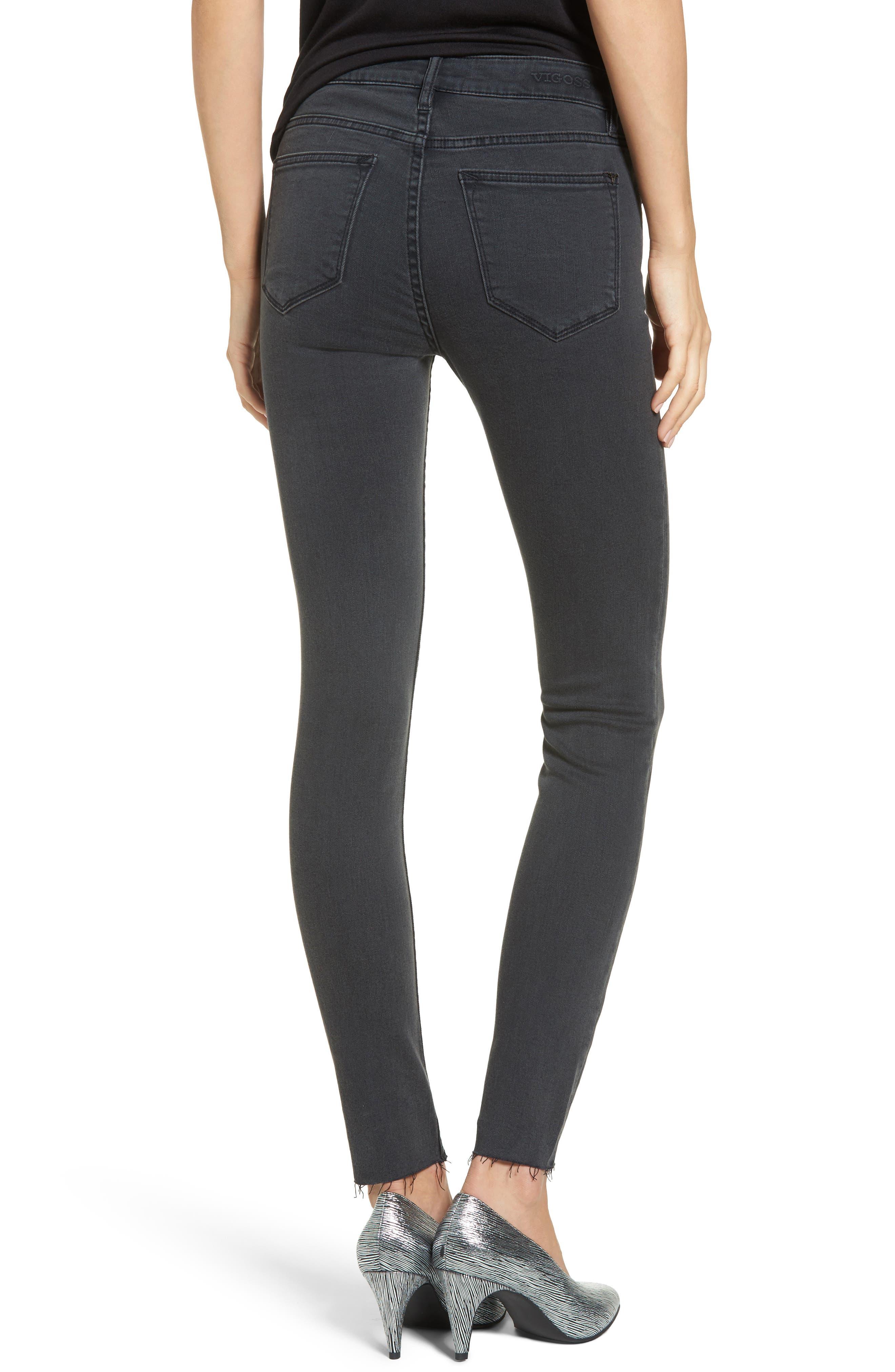 Alternate Image 2  - Vigoss Jagger Front Seam Skinny Jeans