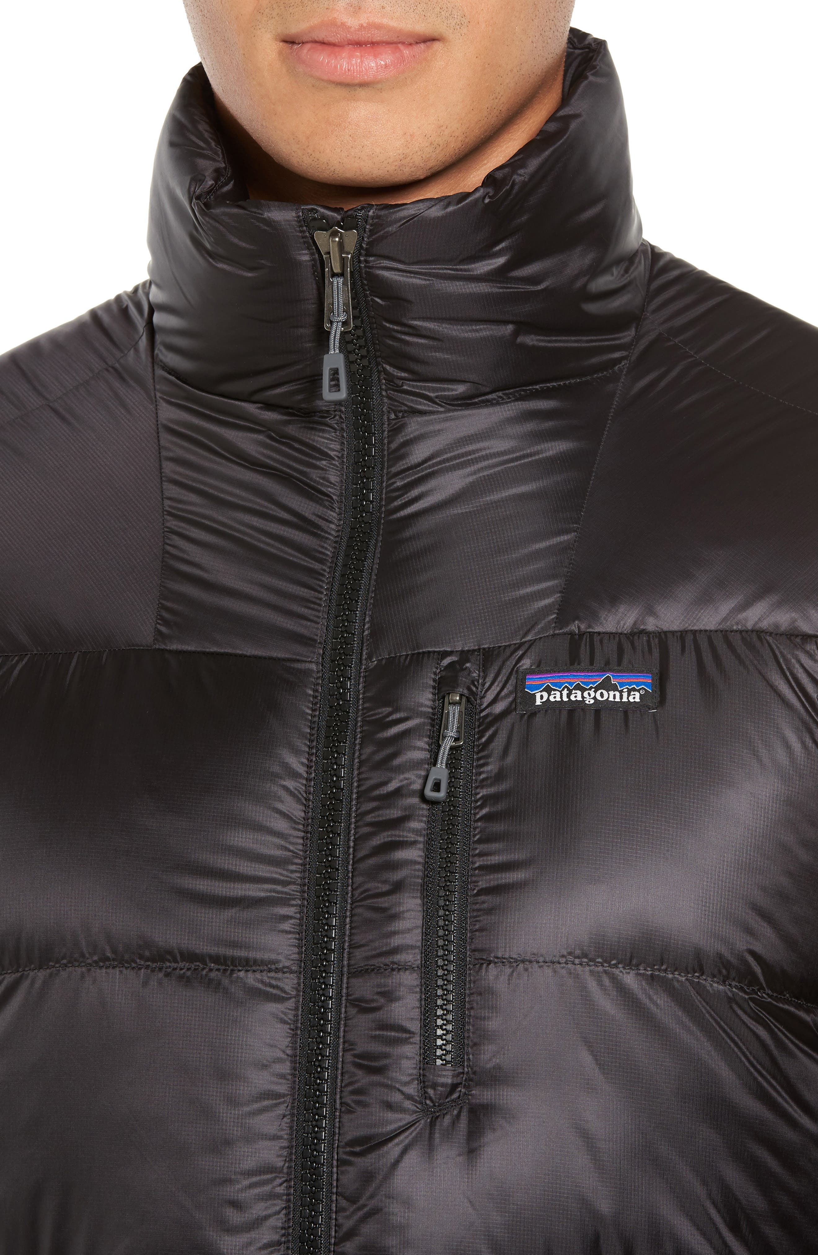 Fitz Roy Water Repellent 800-Fill-Power Down Parka,                             Alternate thumbnail 4, color,                             Black