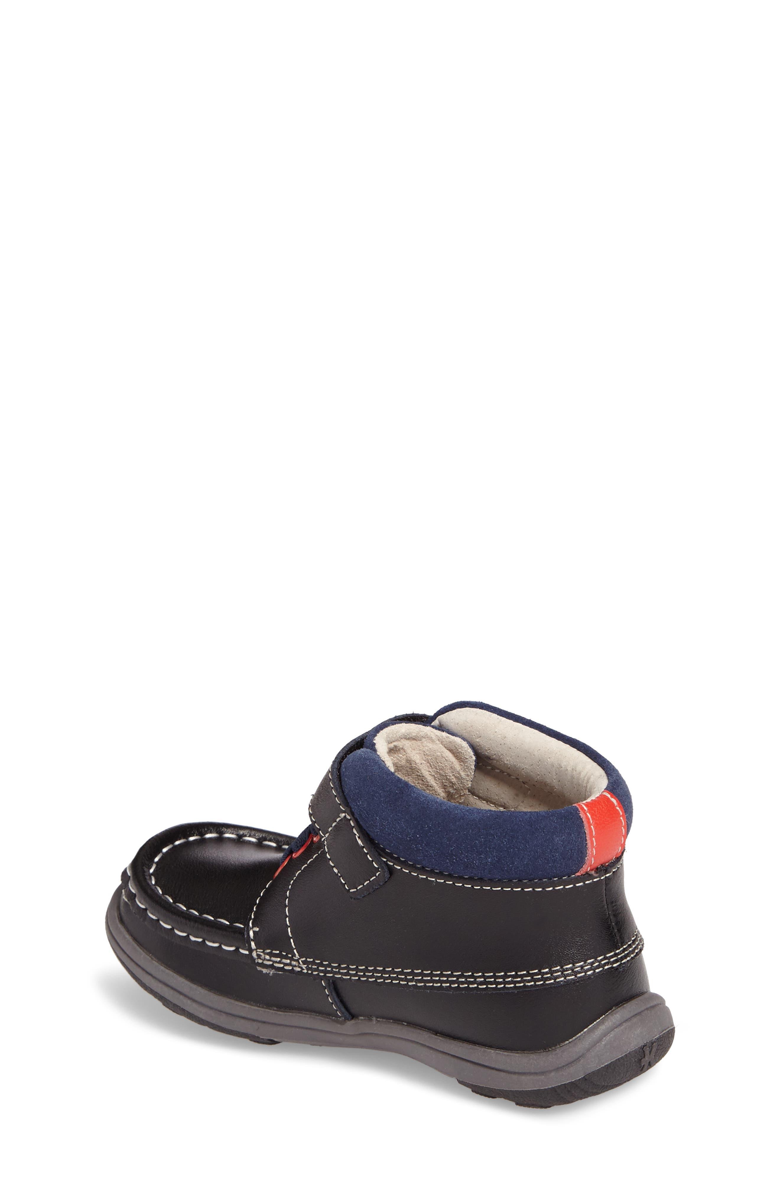 Alternate Image 2  - See Kai Run Owen High Top Sneaker Bootie (Baby, Walker & Toddler)