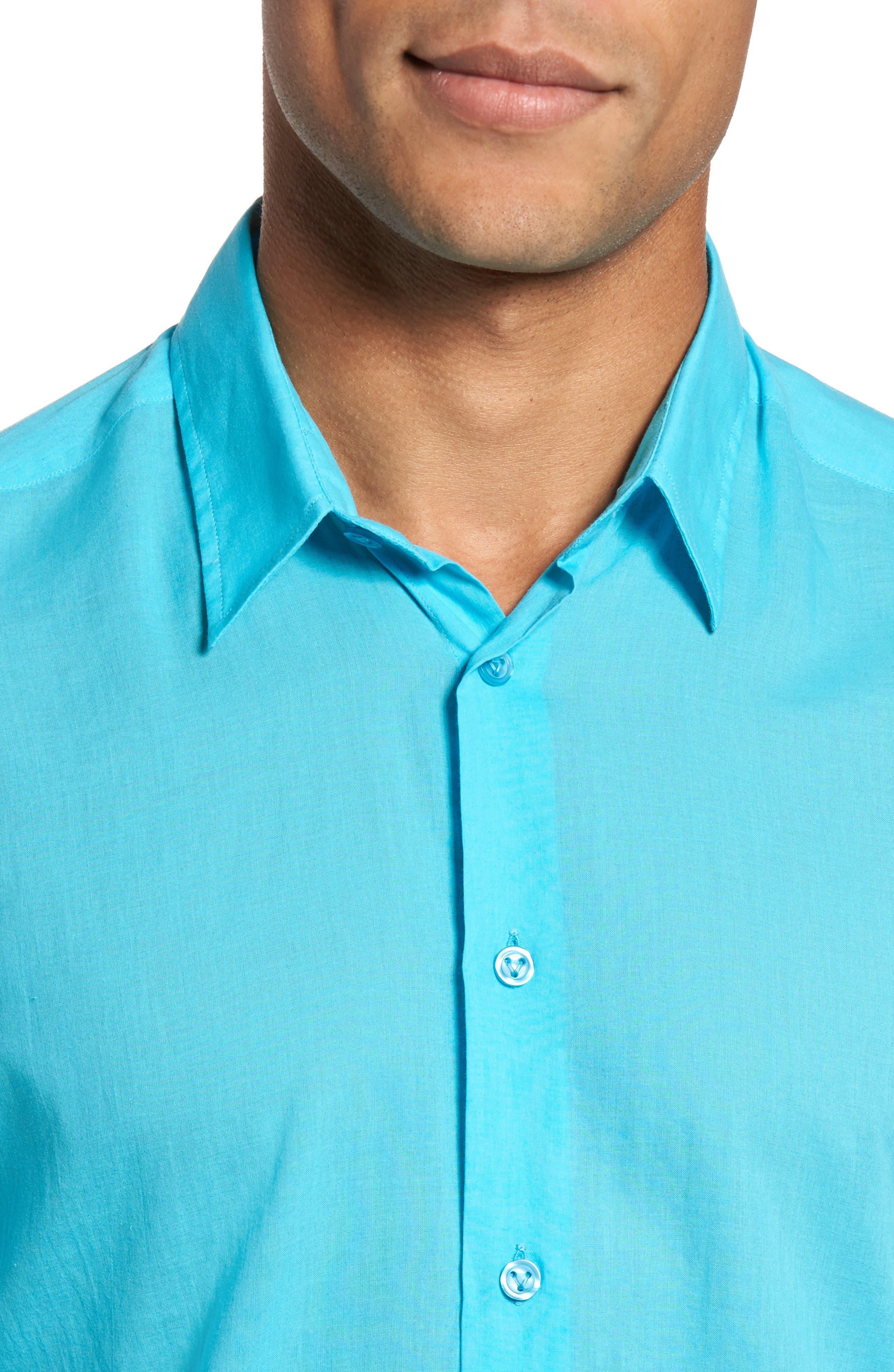 Alternate Image 4  - Vilebrequin Voile Sport Shirt