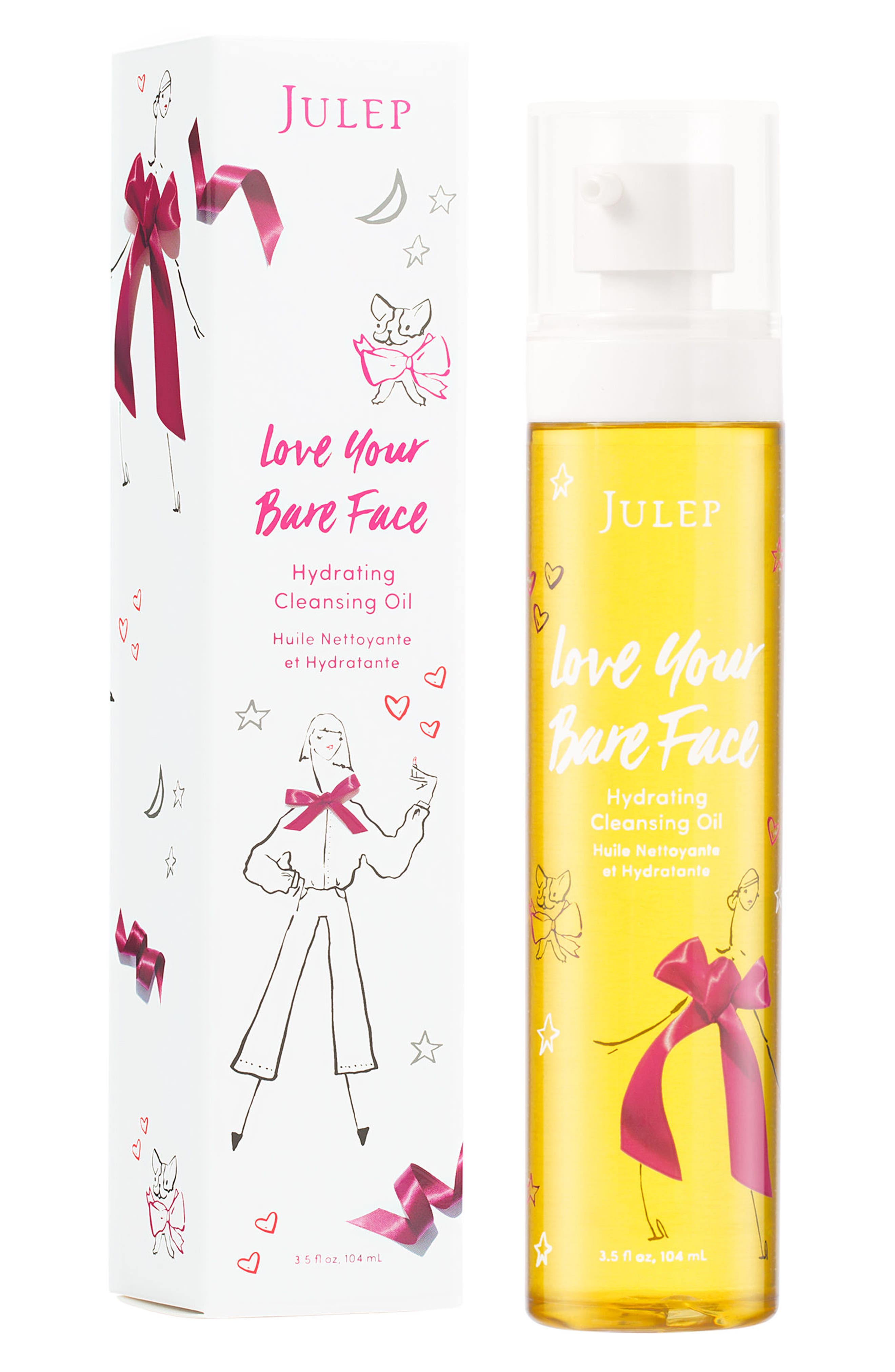 Alternate Image 1 Selected - Julep™ love your bare face Hydrating Cleansing Oil (Limited Edition)