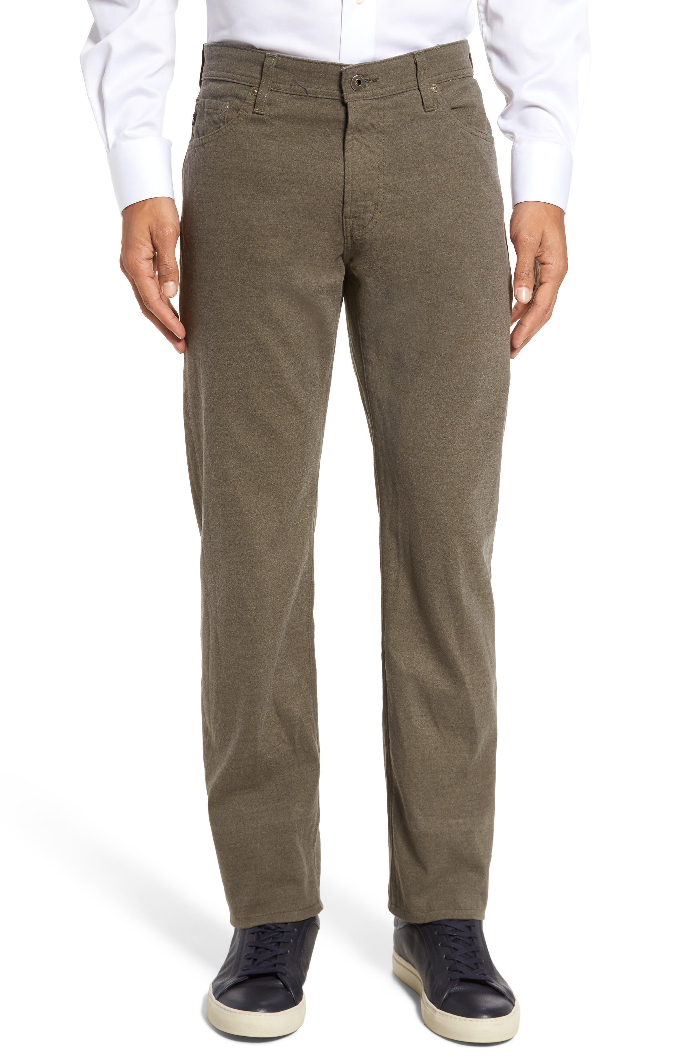 Main Image - AG Graduate Tailored Five-Pocket Straight Leg Pants