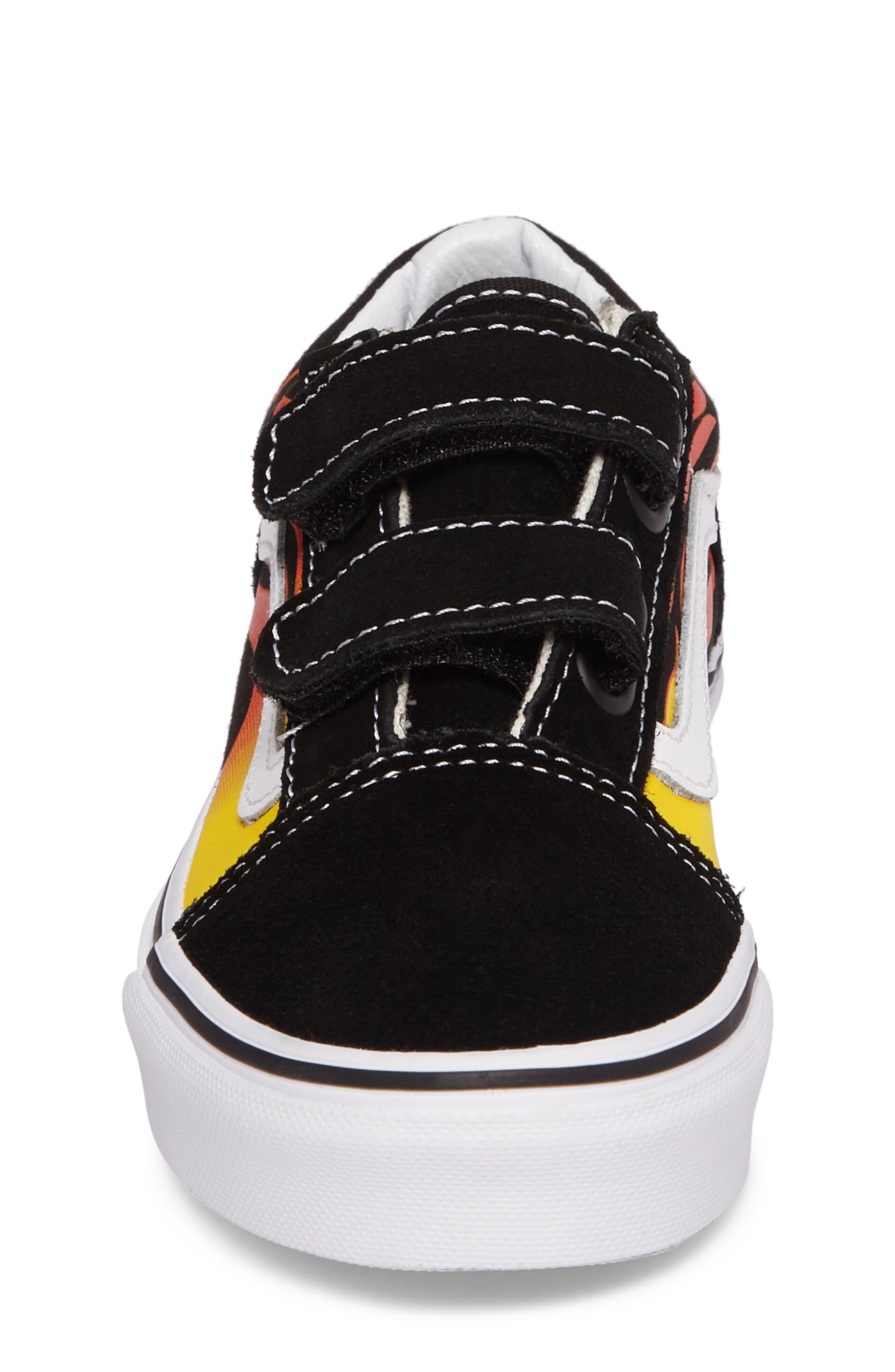 Alternate Image 4  - Vans Old Skool V Sneaker (Baby, Walker, Toddler, Little Kid & Big Kid)