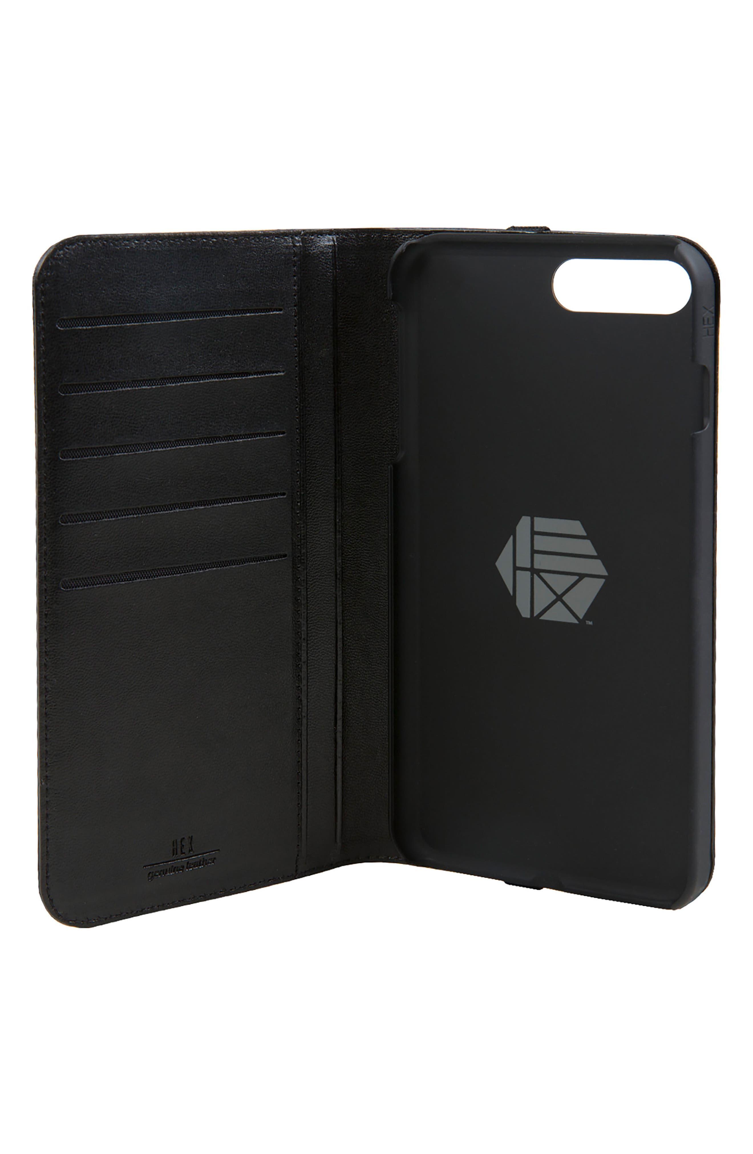 Alternate Image 2  - HEX Icon iPhone 6/6s/7/8 Plus Wallet Case