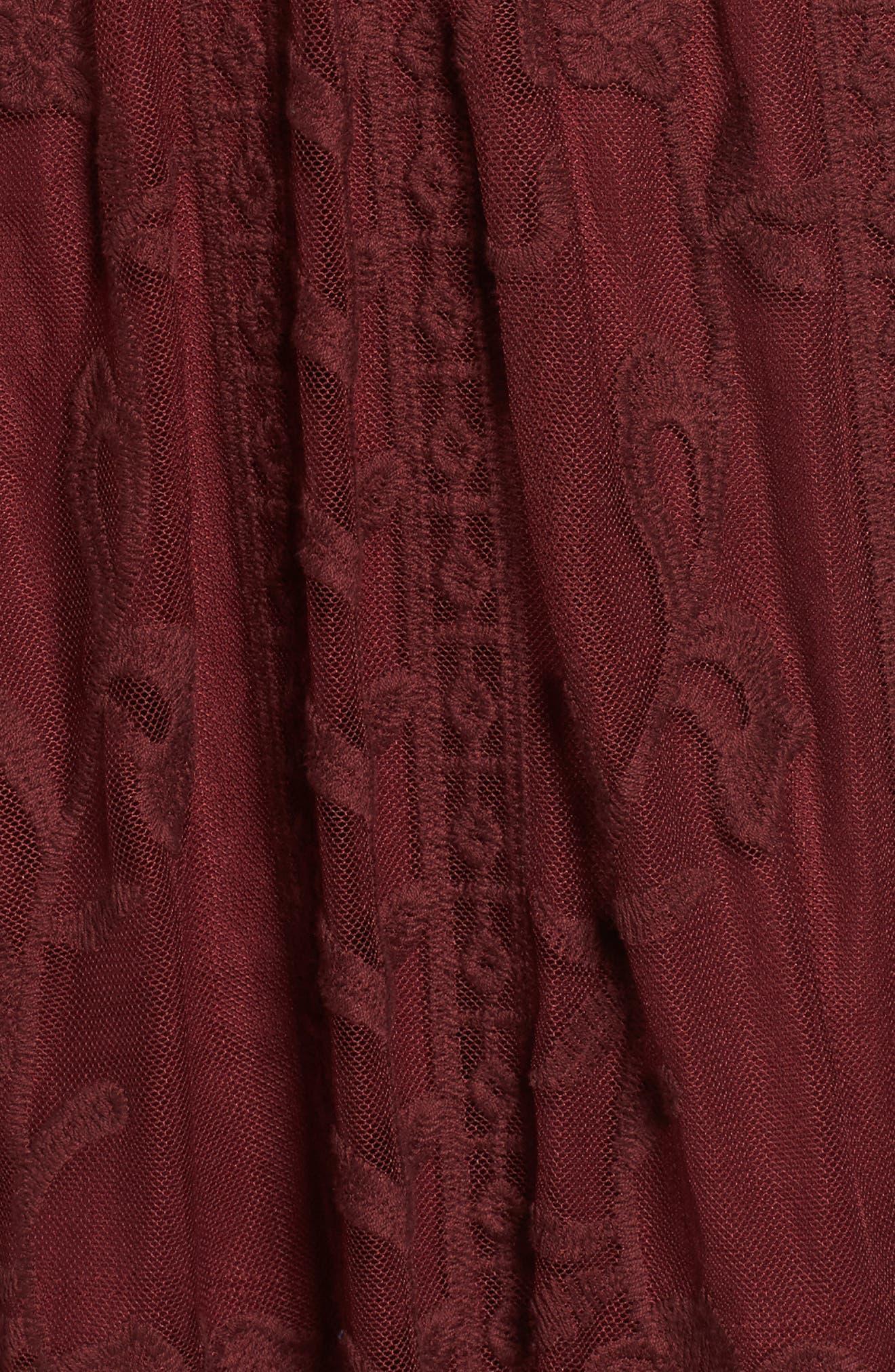Alternate Image 5  - Socialite Lace Overlay Romper
