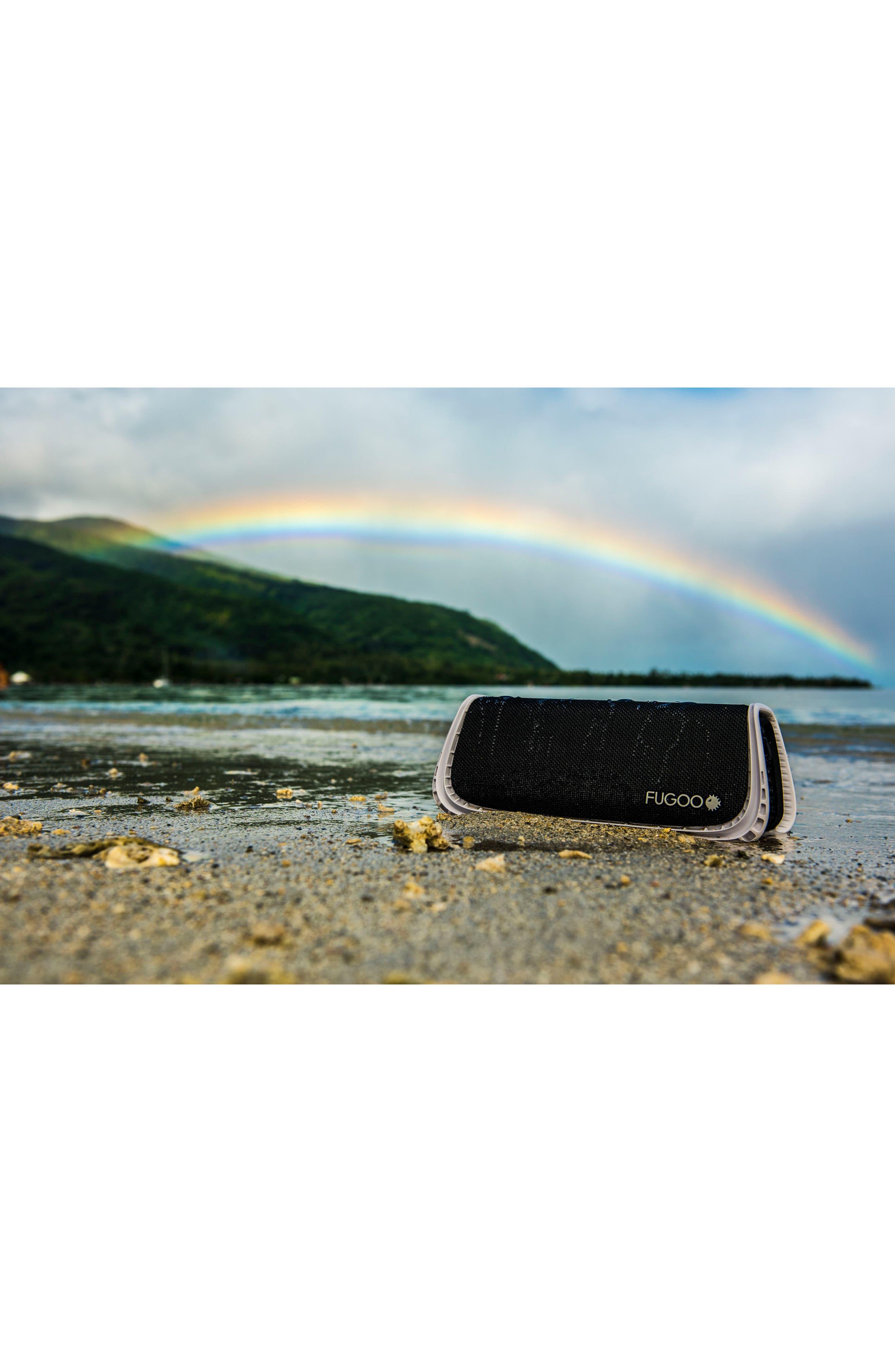 Sport Waterproof Bluetooth Speaker,                             Alternate thumbnail 5, color,                             Black/ Blue