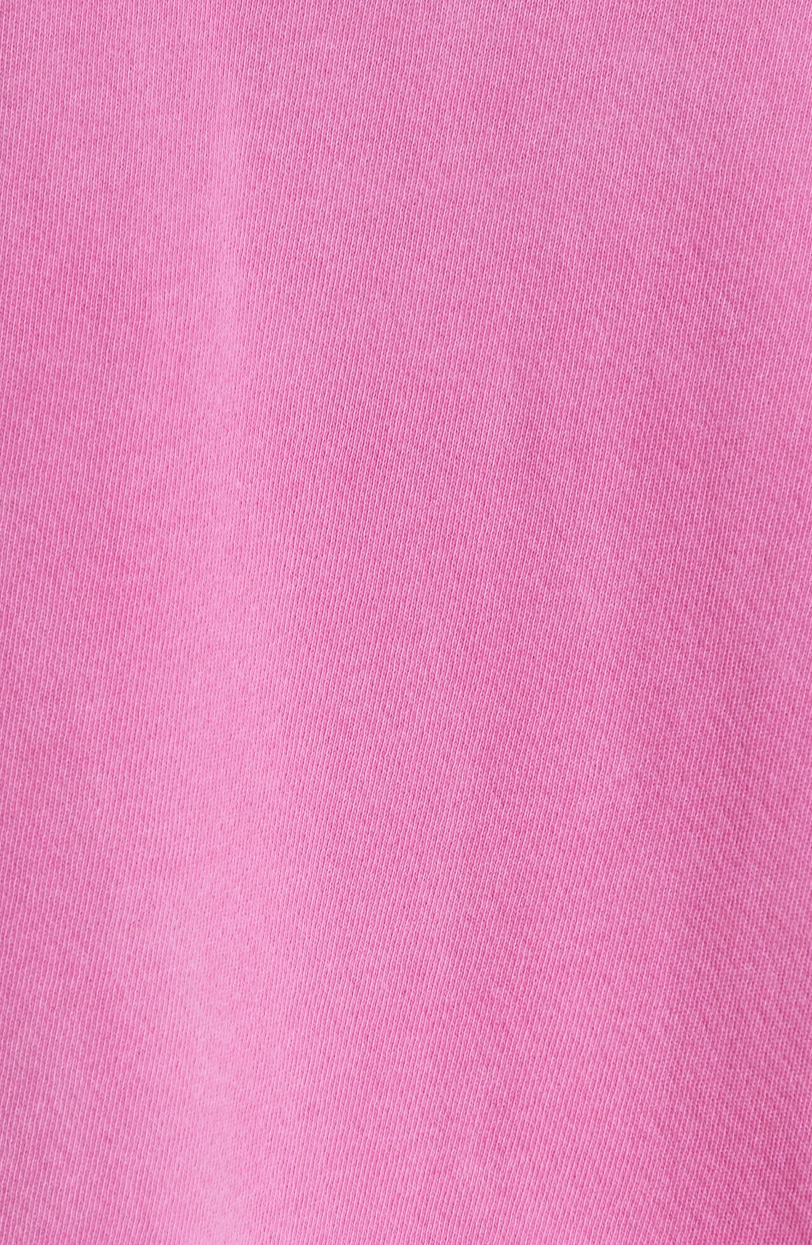 The College Sweatshirt,                             Alternate thumbnail 5, color,                             Thistle W/ Jaguar Graphic