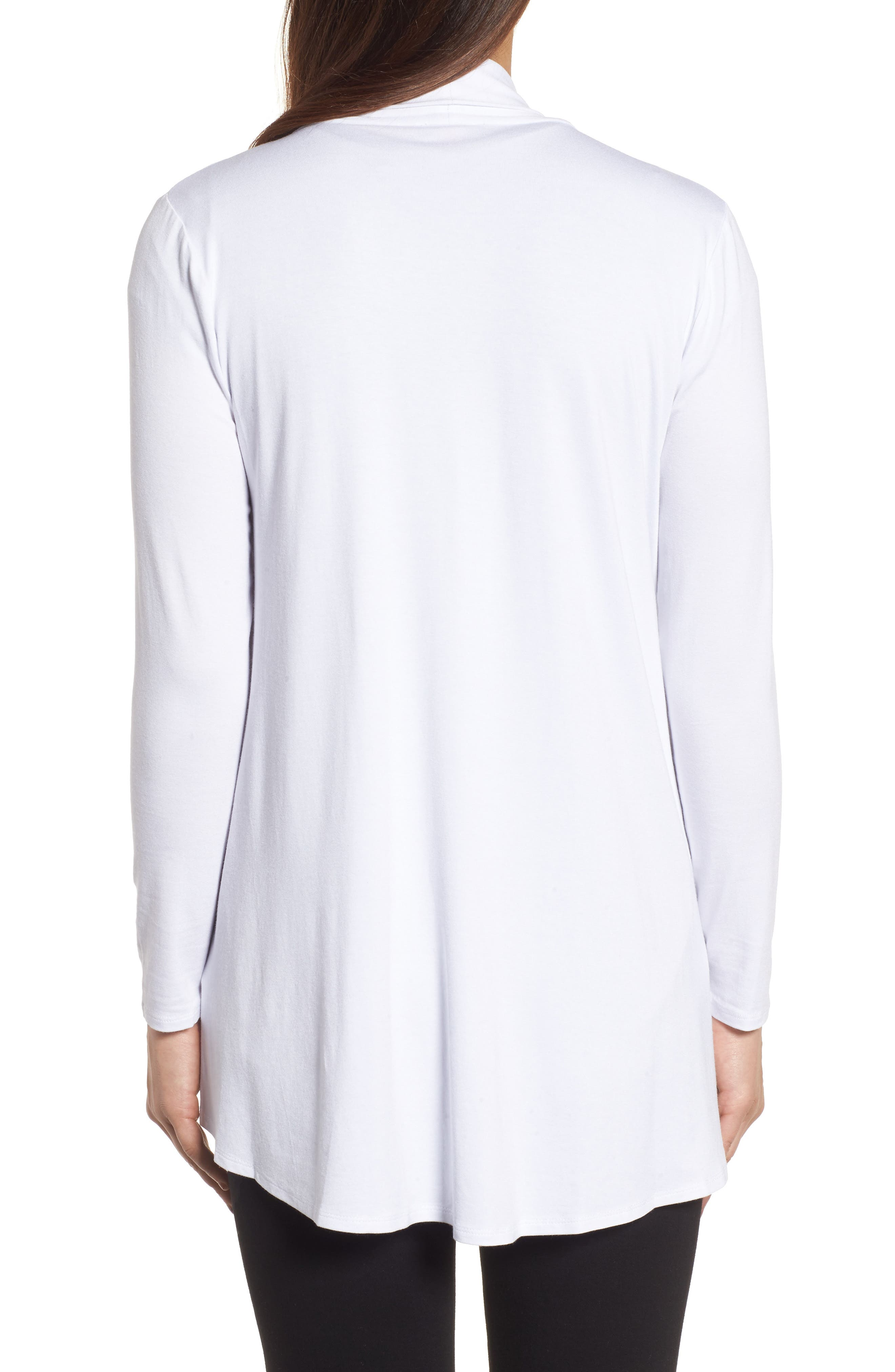 Alternate Image 2  - Vince Camuto Open Front Cardigan