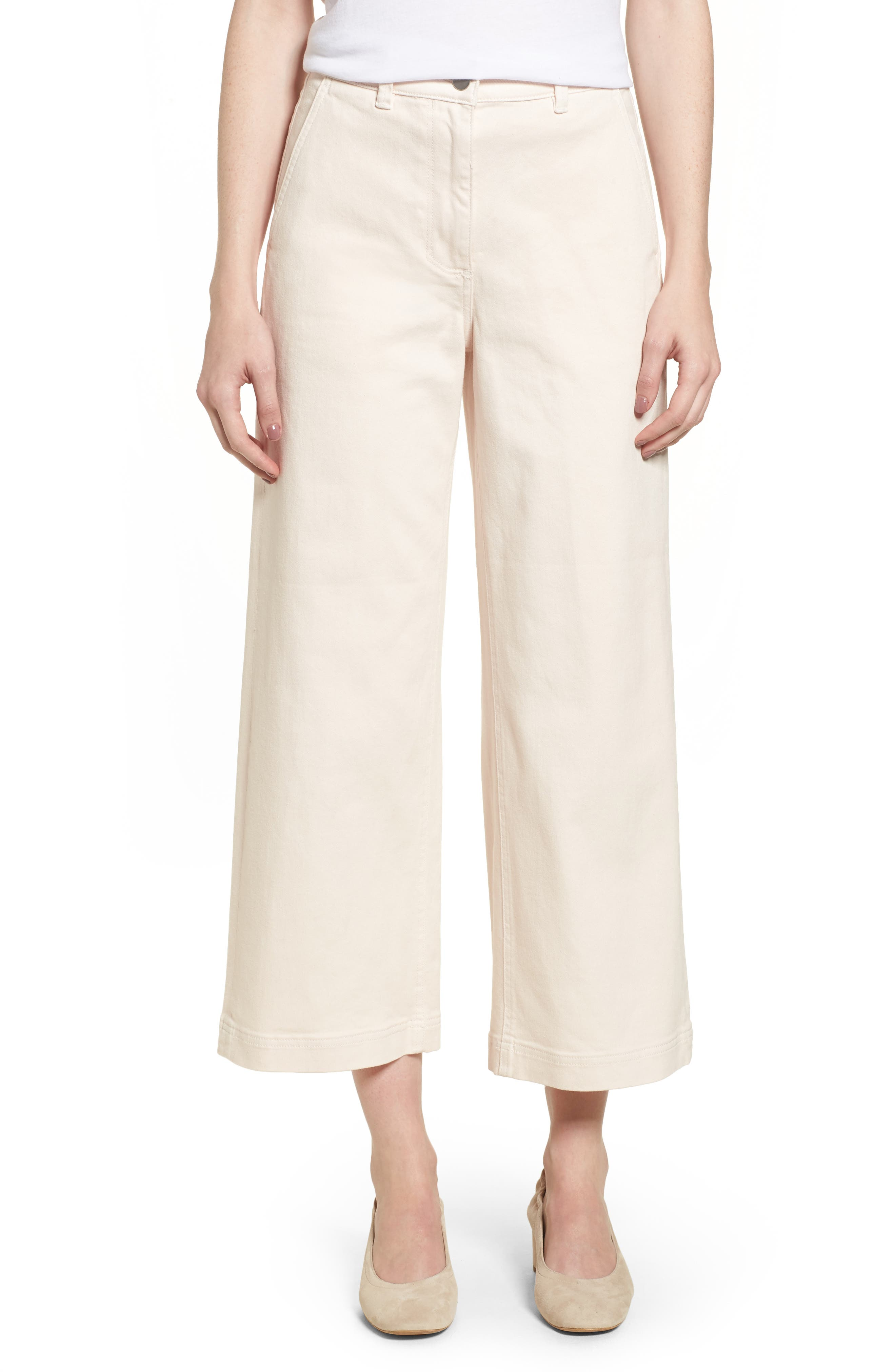 Alternate Image 1 Selected - Everlane The Wide Leg Crop Pants