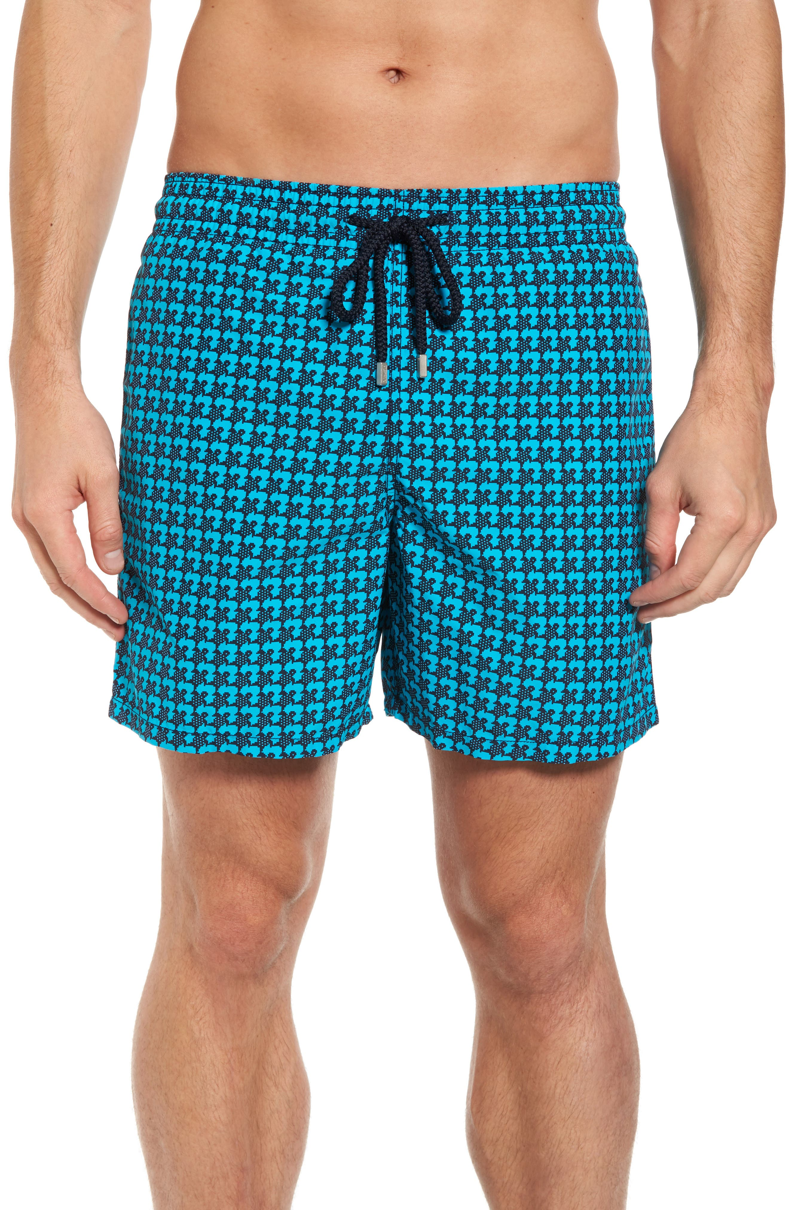 Moorea Baby Trop Swim Shorts,                         Main,                         color, Azure