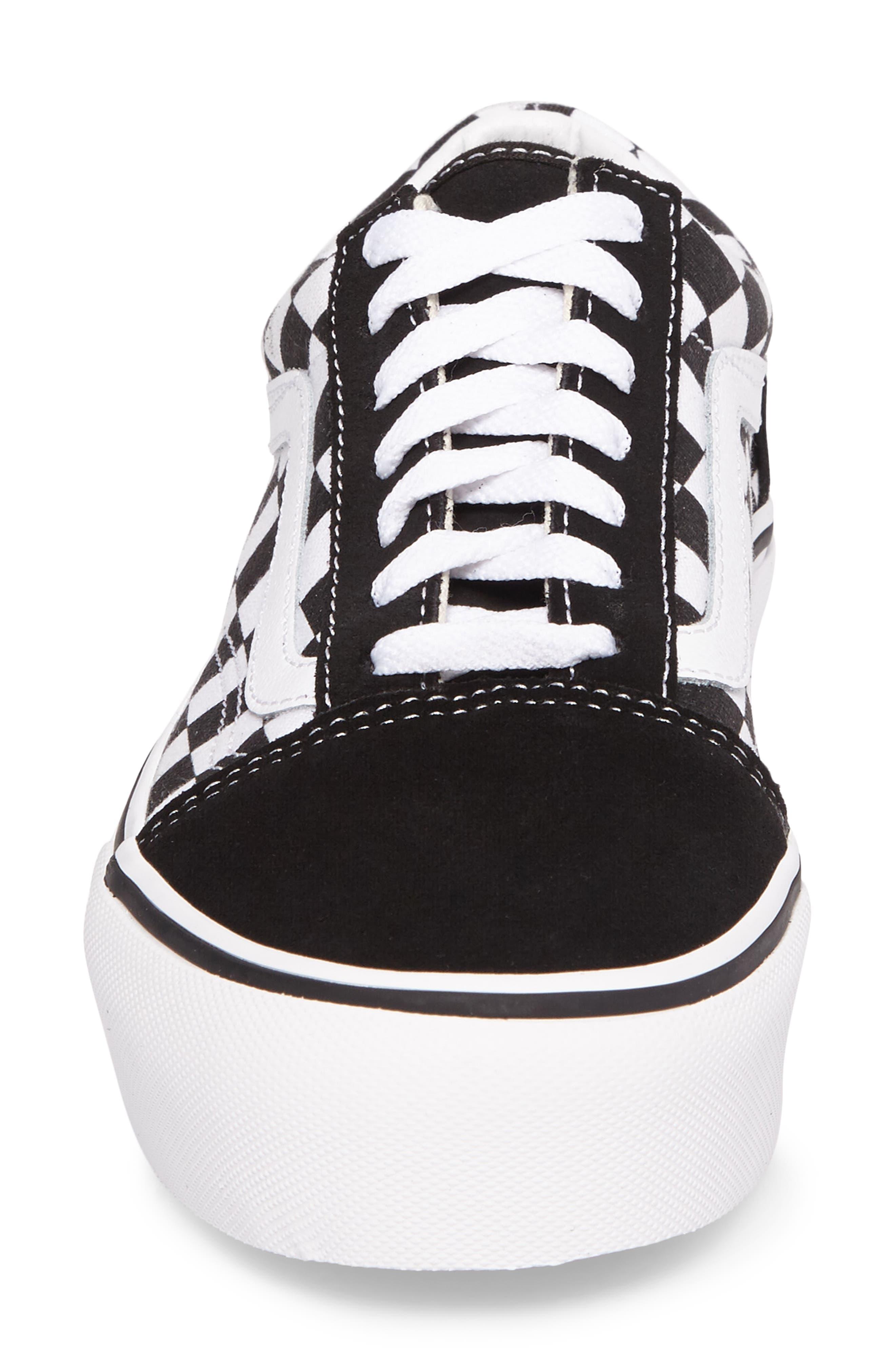 Alternate Image 4  - Vans Old Skool Platform Sneaker (Women)