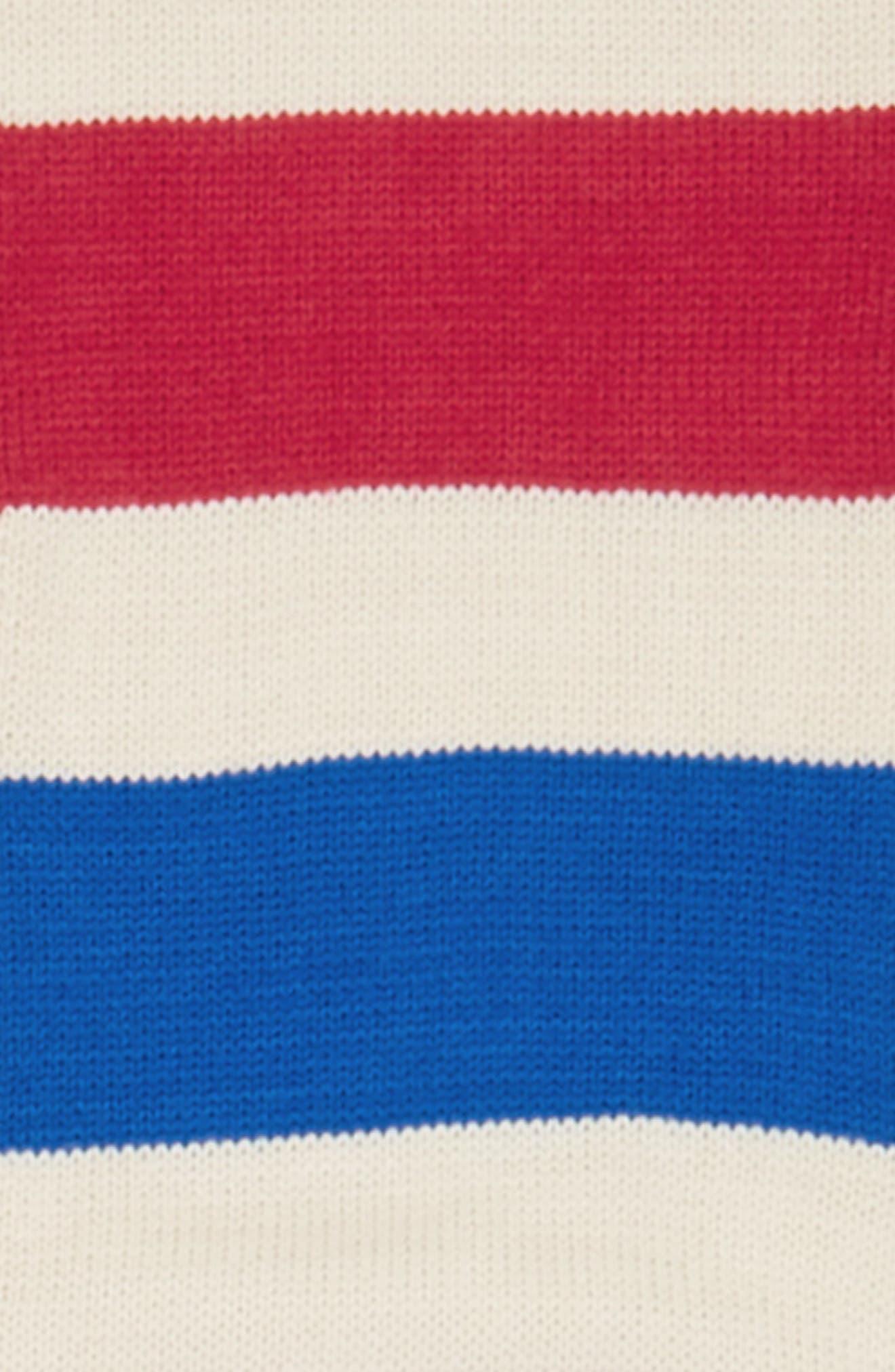 Alternate Image 3  - BP. Varsity Stripe Oblong Scarf