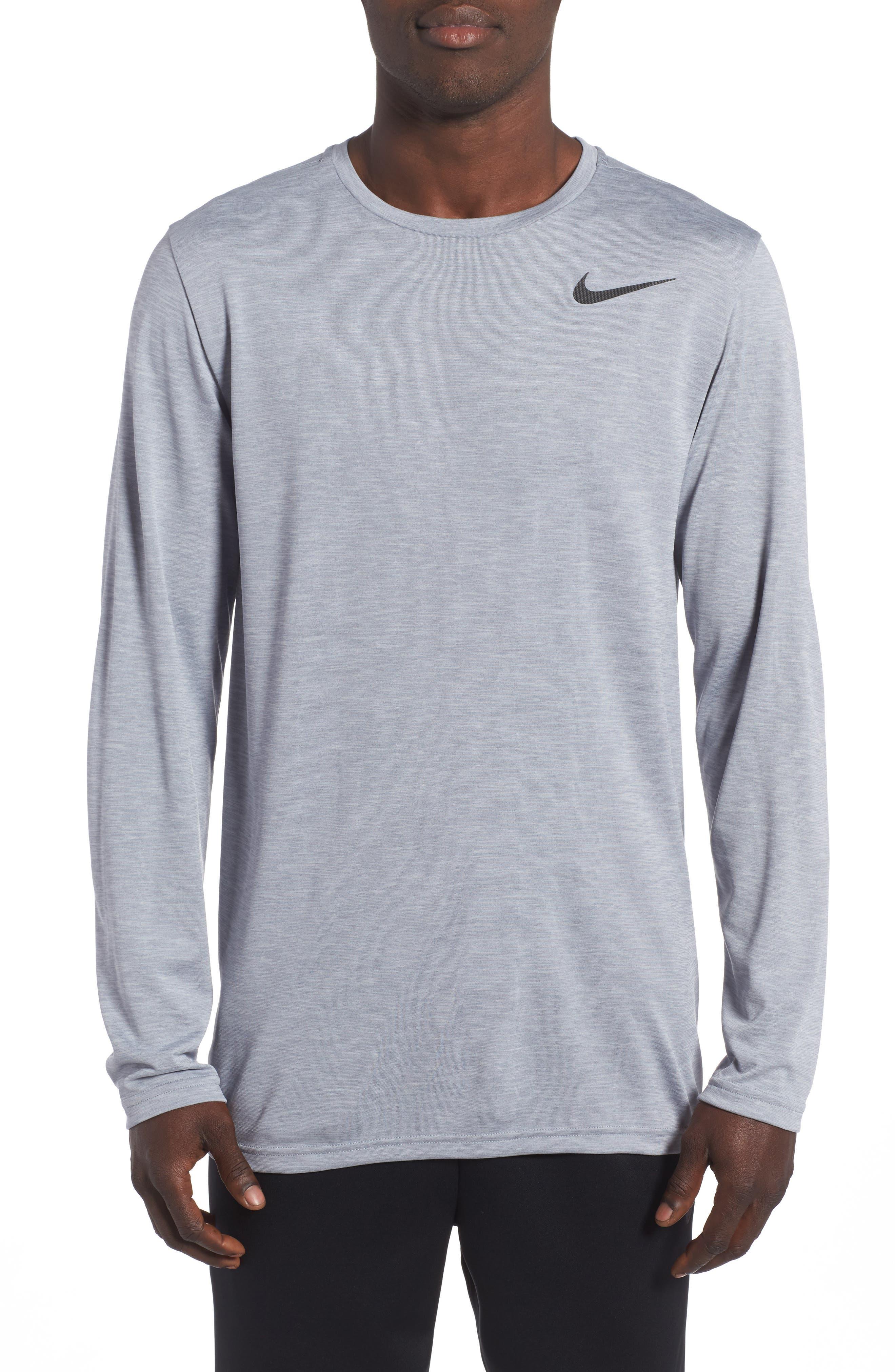 Main Image - Nike Long Sleeve Training T-Shirt
