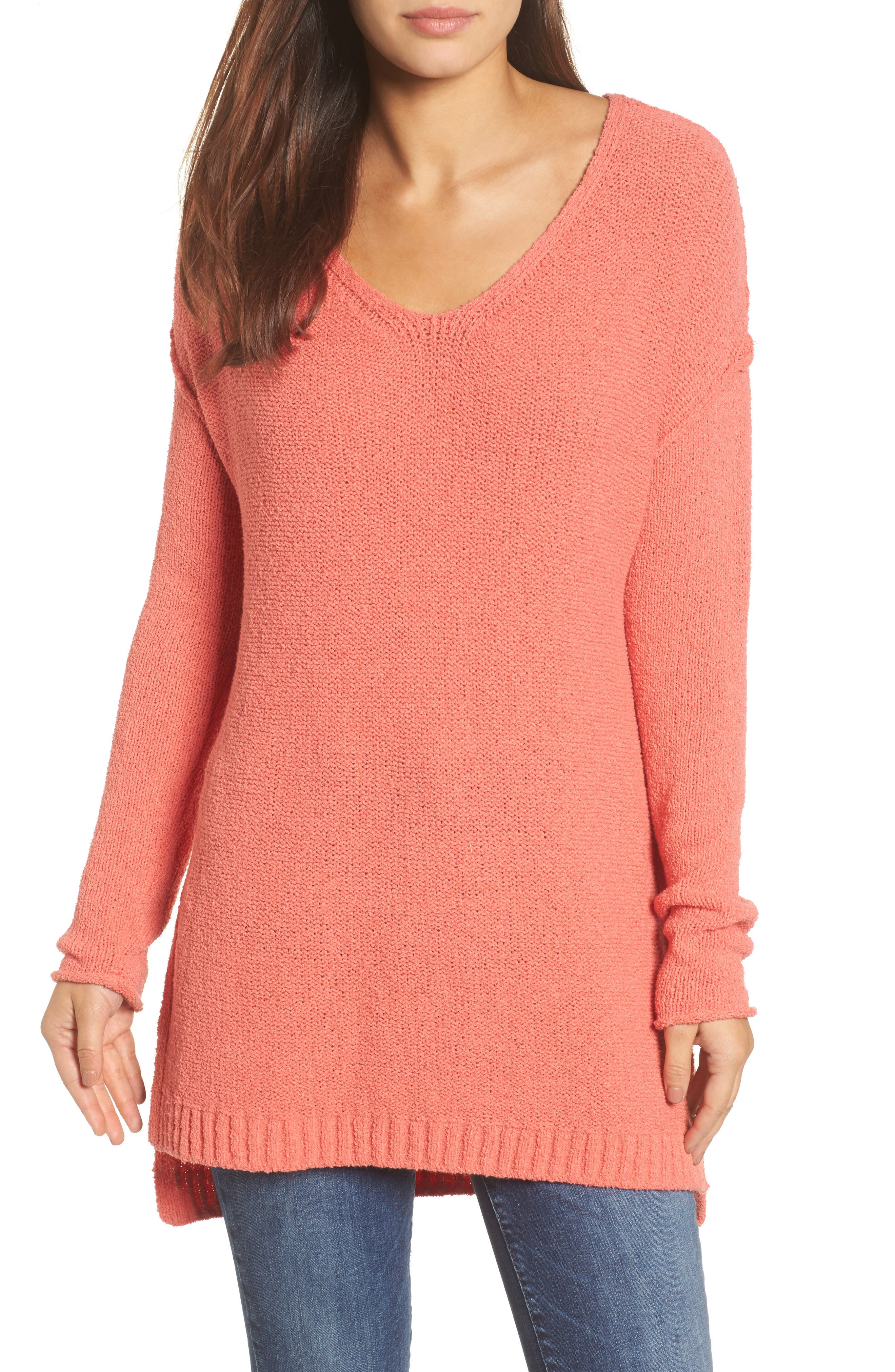 Caslon® Tunic Sweater