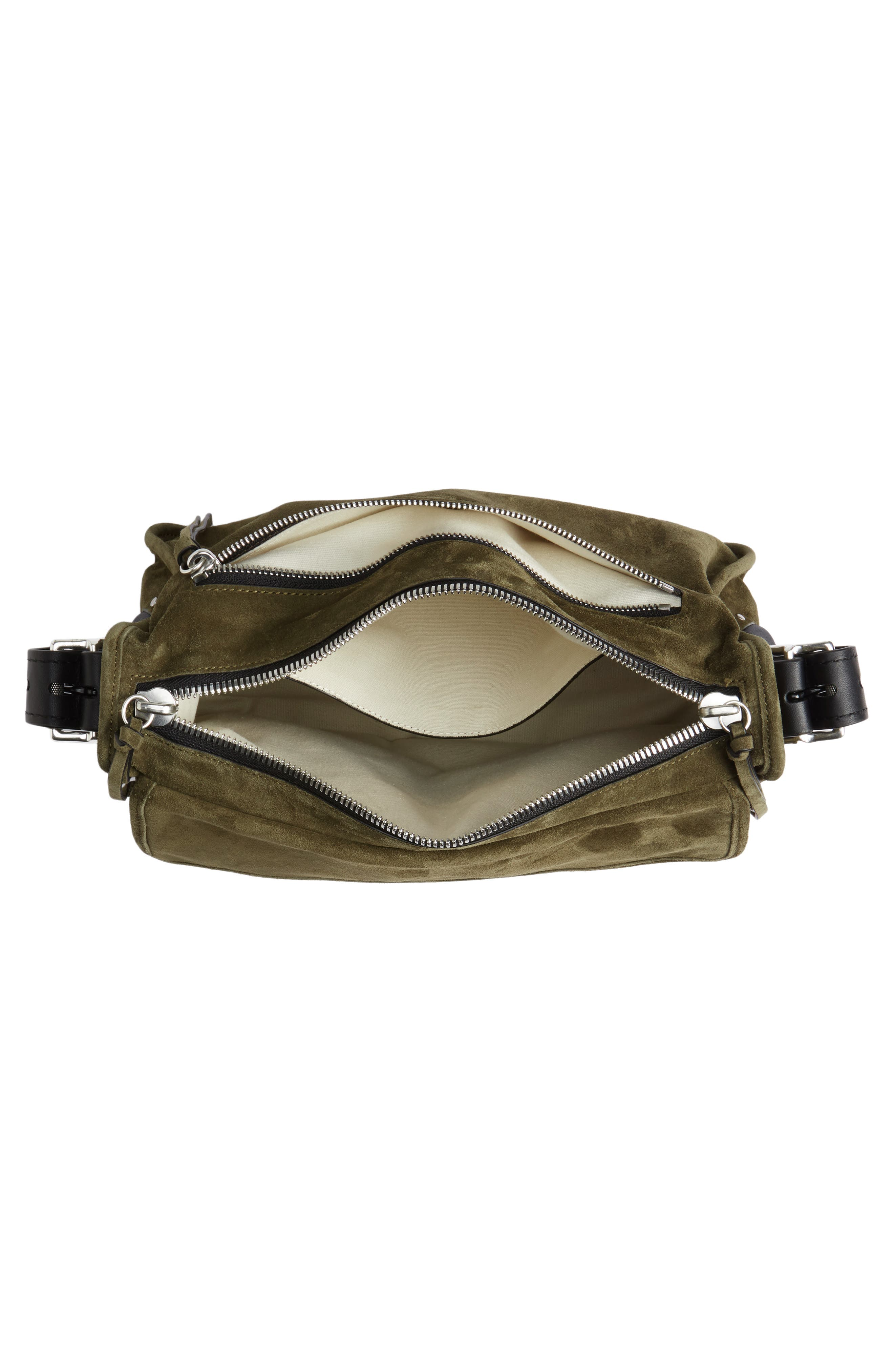 Alternate Image 4  - rag & bone Field Messenger Suede Shoulder Bag