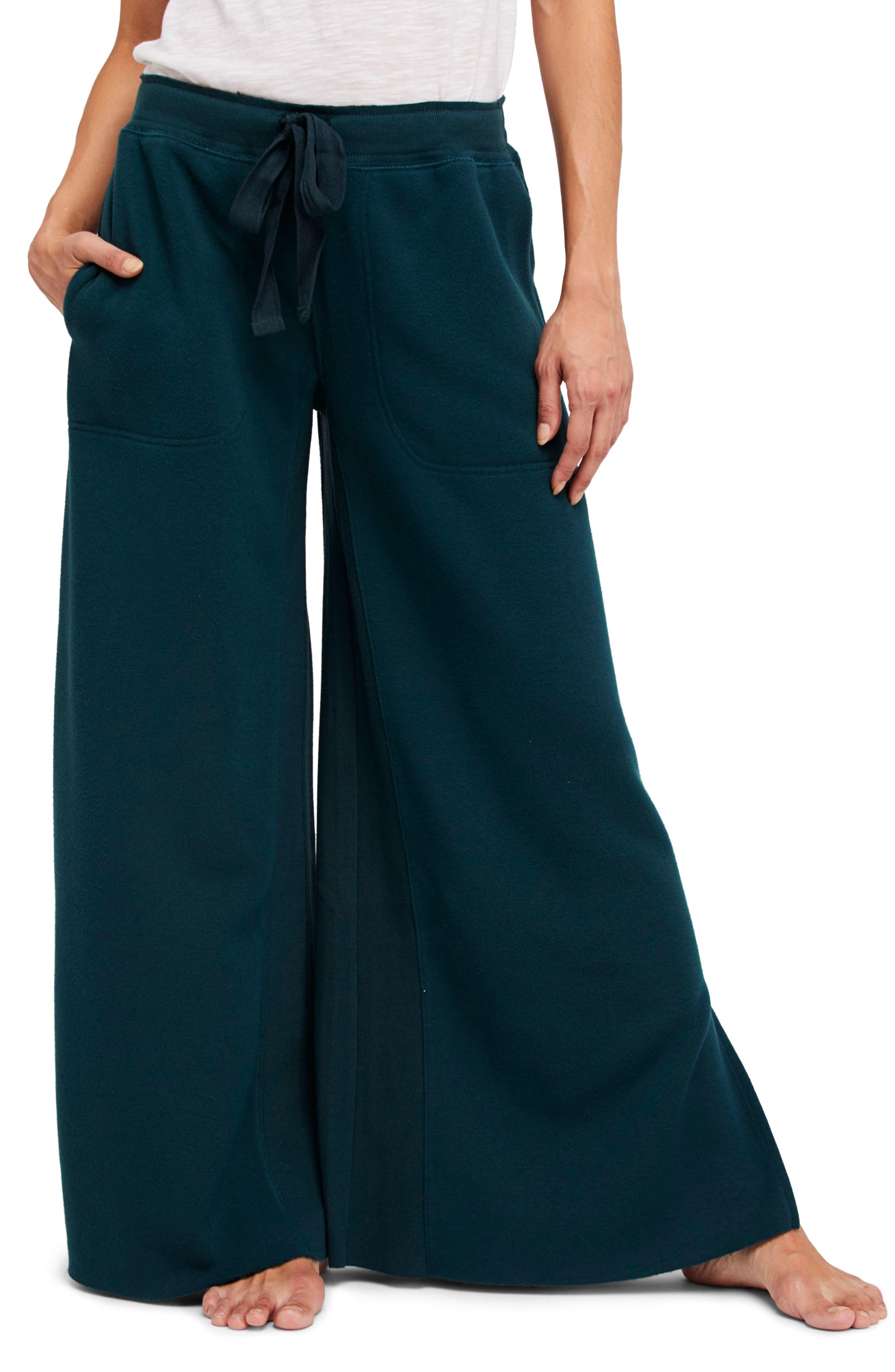 Double Axel Jogger Pants,                             Main thumbnail 1, color,                             Turquoise