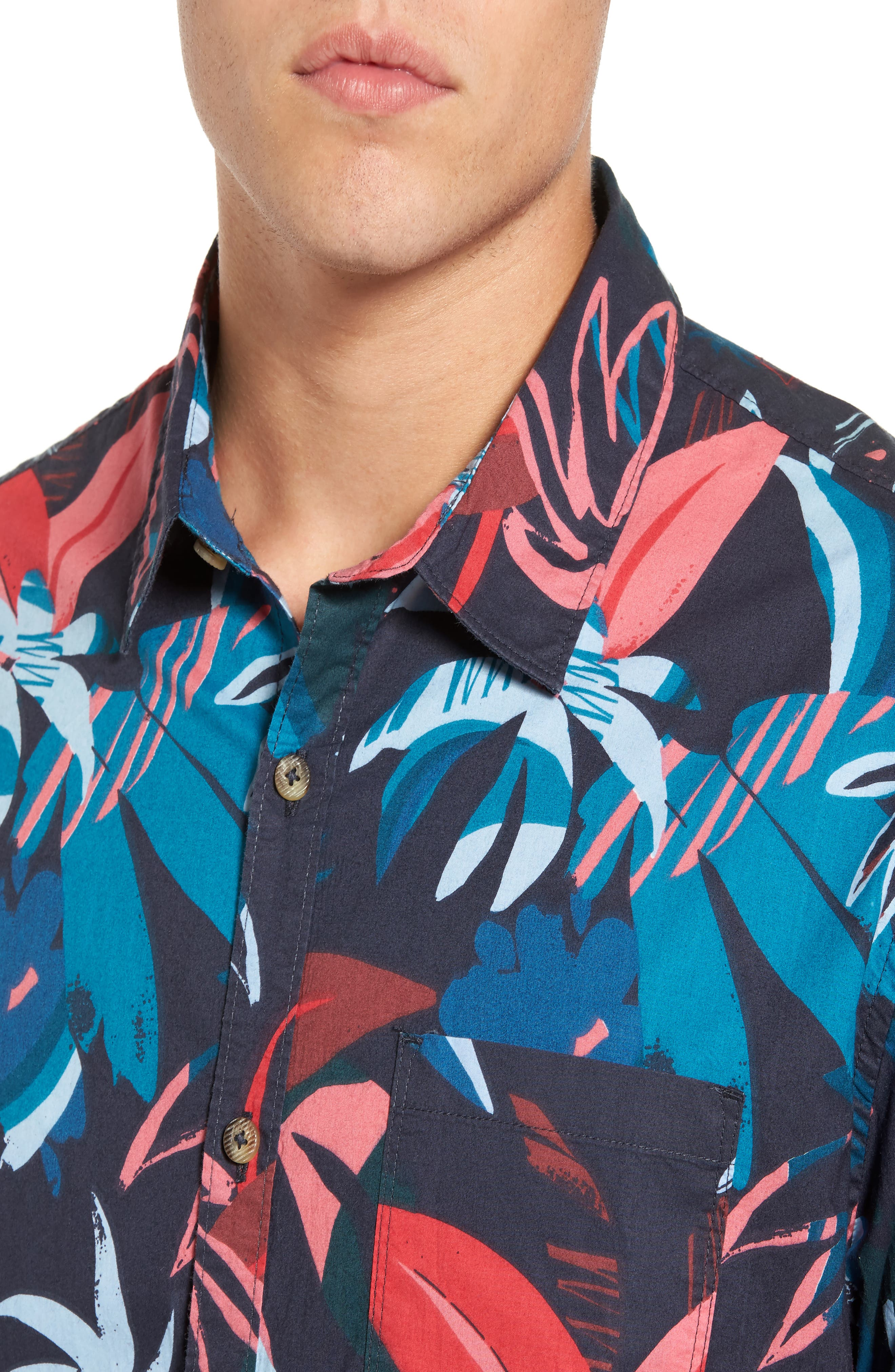Alternate Image 4  - Billabong Sundays Woven Shirt