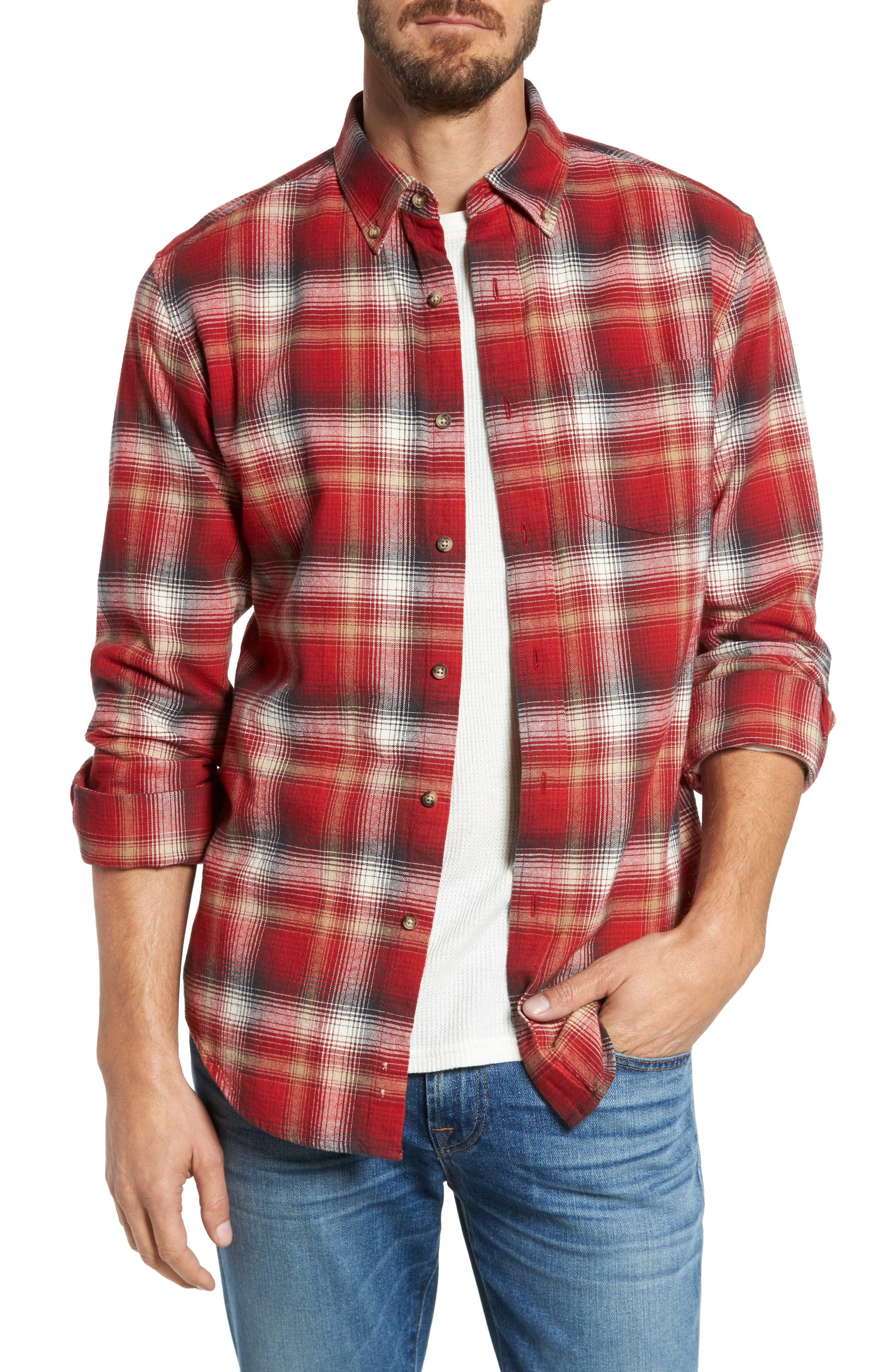 Pendleton Lister Ombré Plaid Sport Shirt
