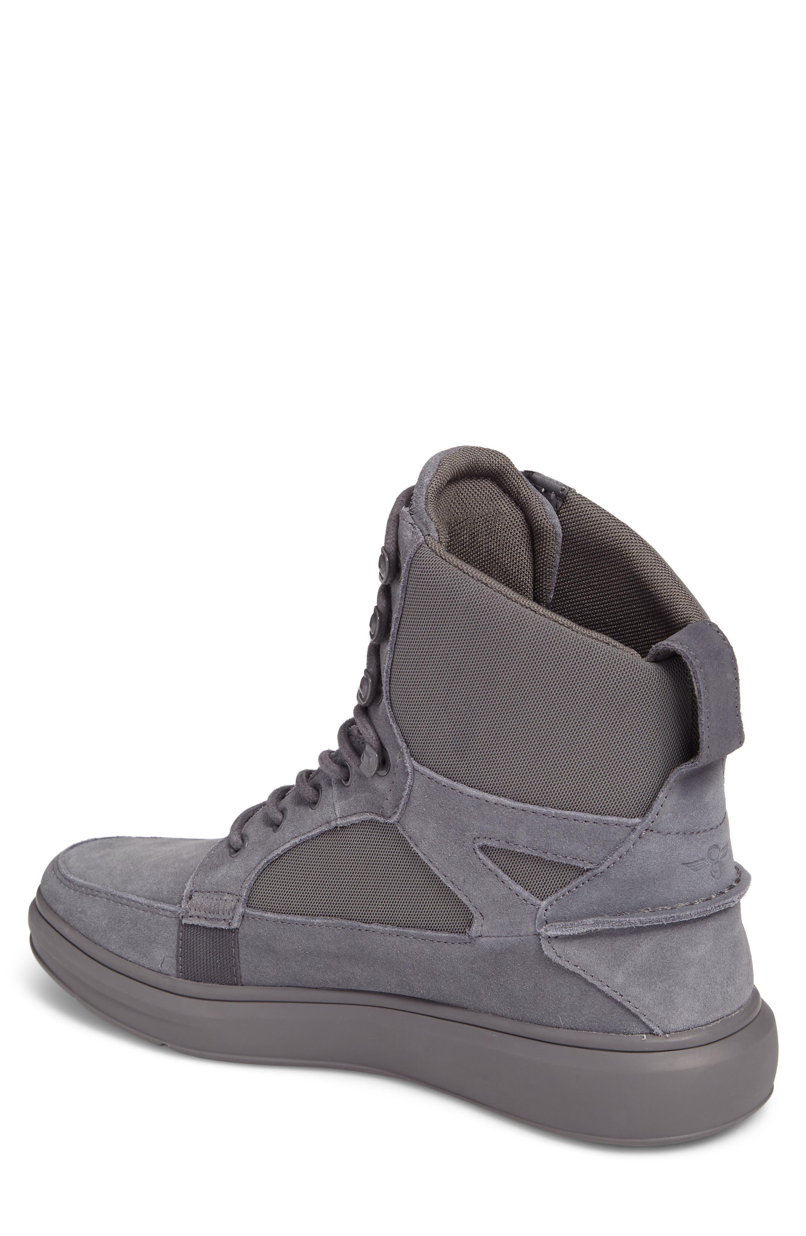 Desimo Sneaker,                             Alternate thumbnail 2, color,                             Smoke Leather
