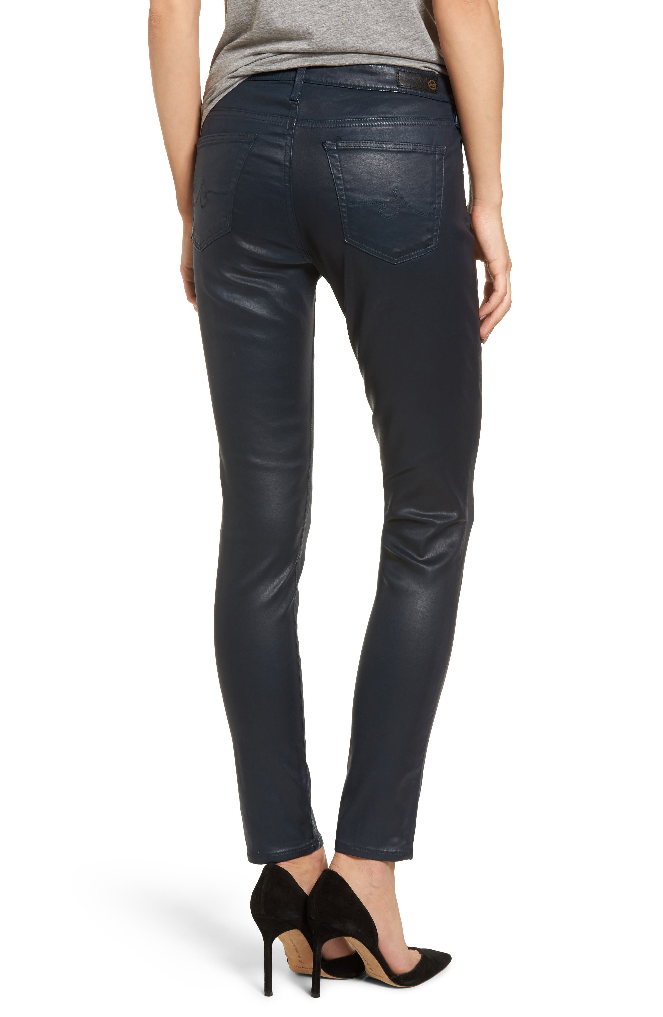 Alternate Image 2  - AG The Legging Ankle Jeans