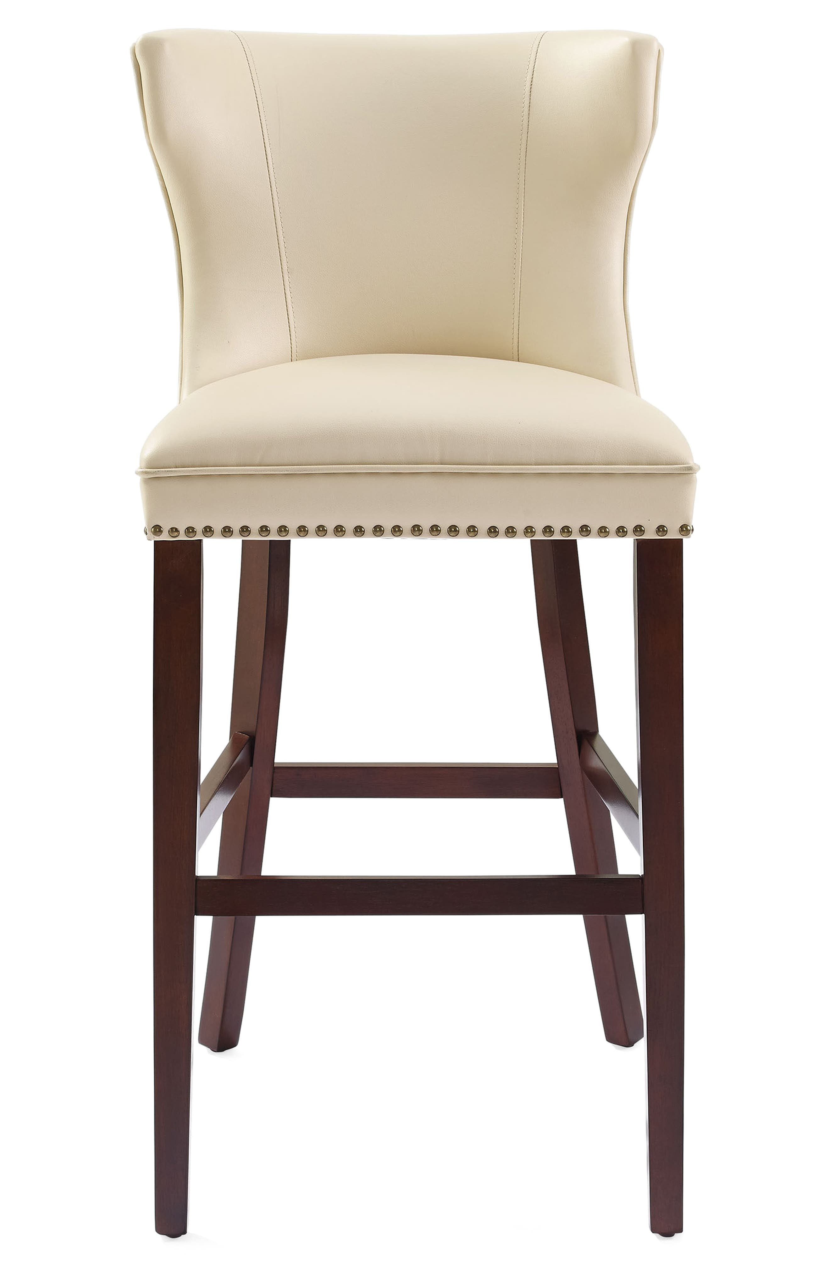 Tilson Bar Stool,                         Main,                         color, Cream