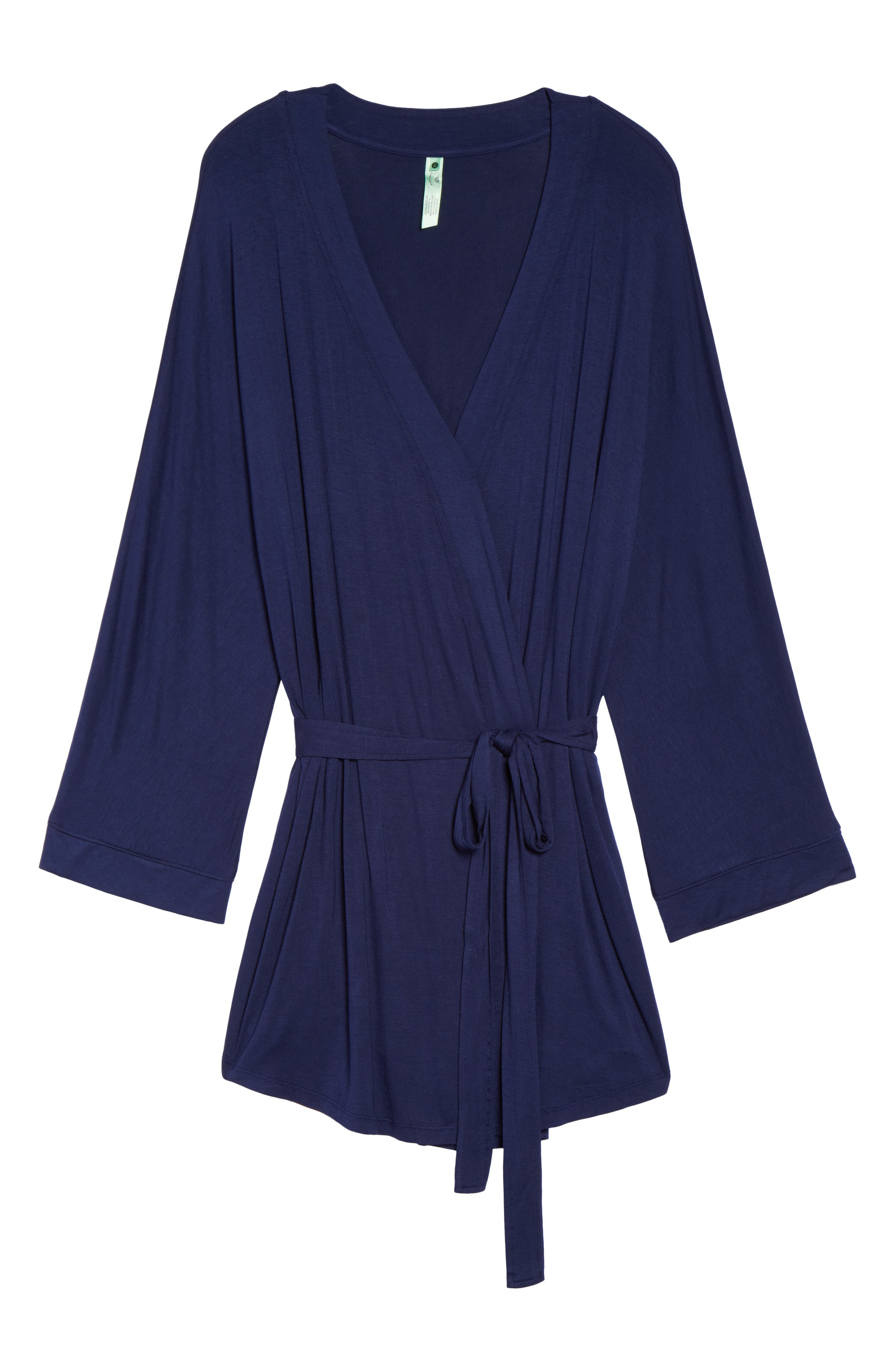 All American Jersey Robe,                             Alternate thumbnail 6, color,                             Navy