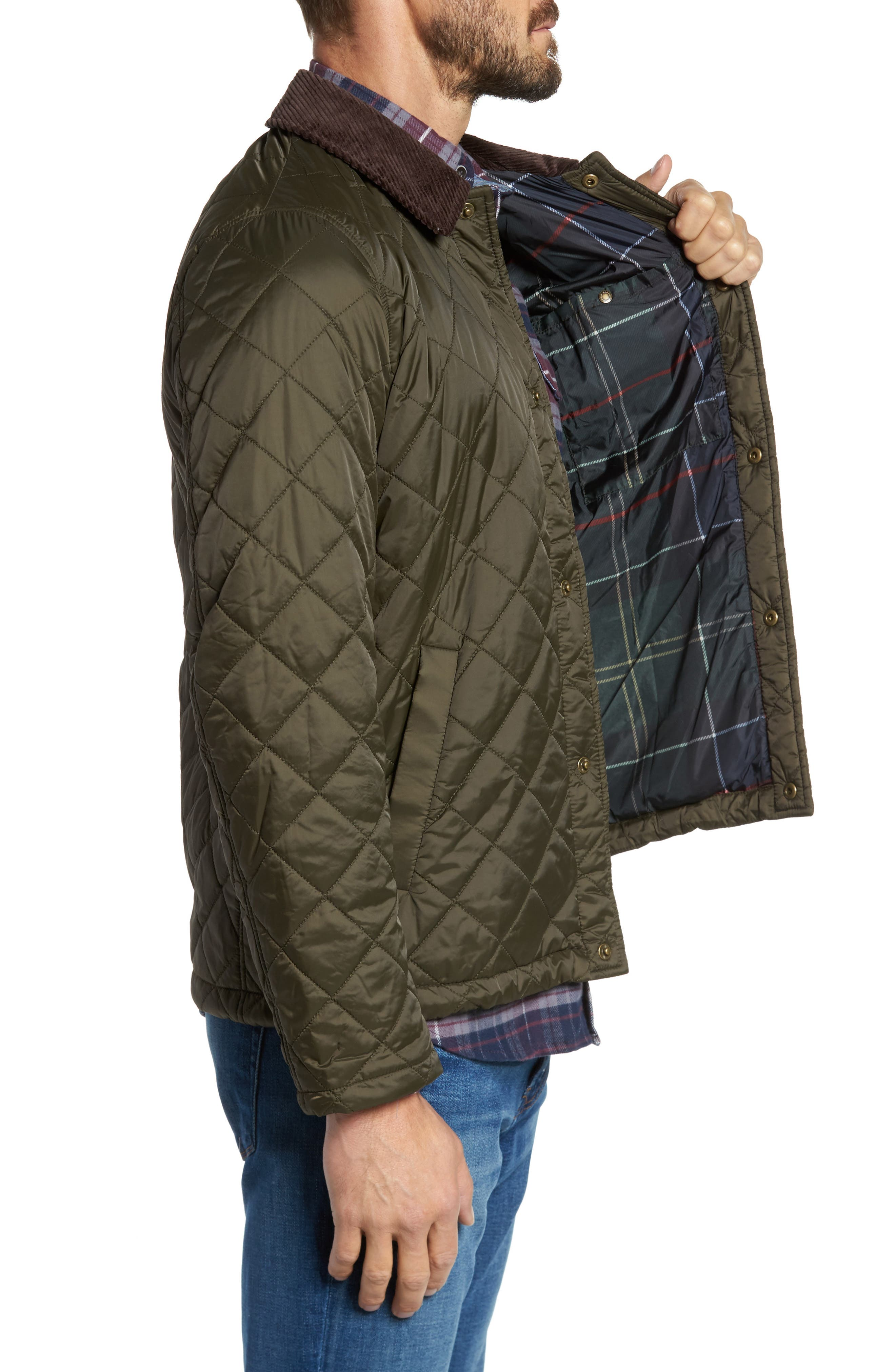 Alternate Image 3  - Barbour Holme Quilted Water-Resistant Jacket