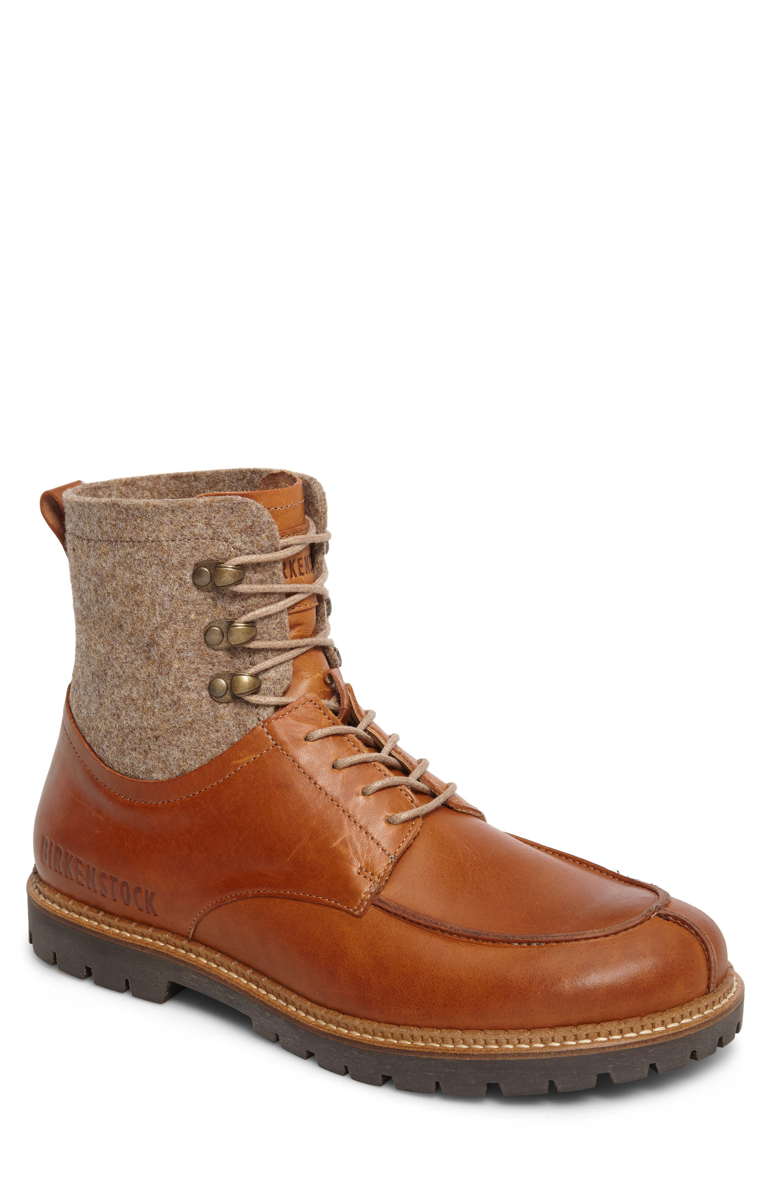 Timmins Split Toe Boot,                             Main thumbnail 1, color,                             Cuoio