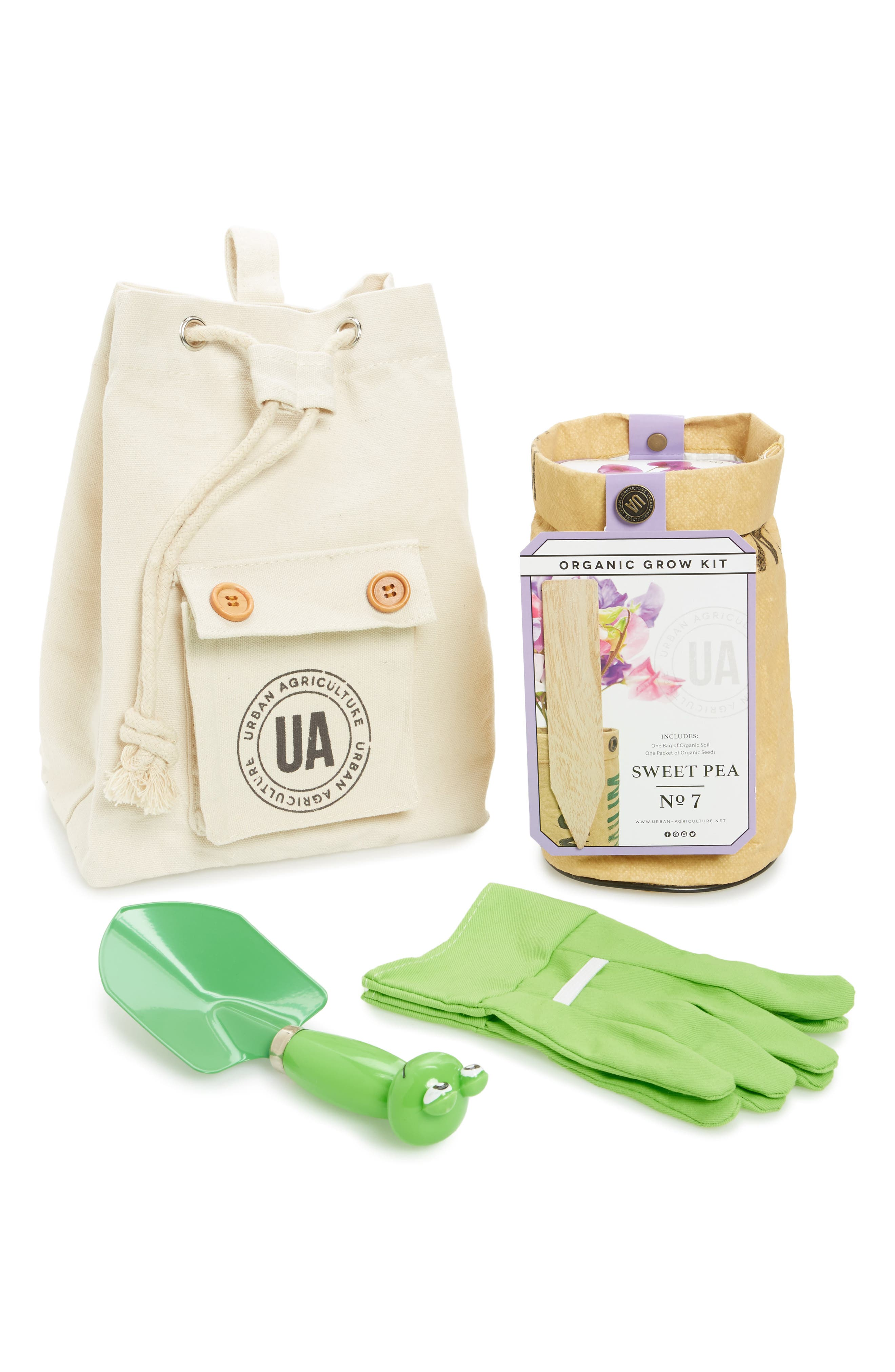 Urban Kid Organic Grow Kit,                         Main,                         color, Sweet Pea
