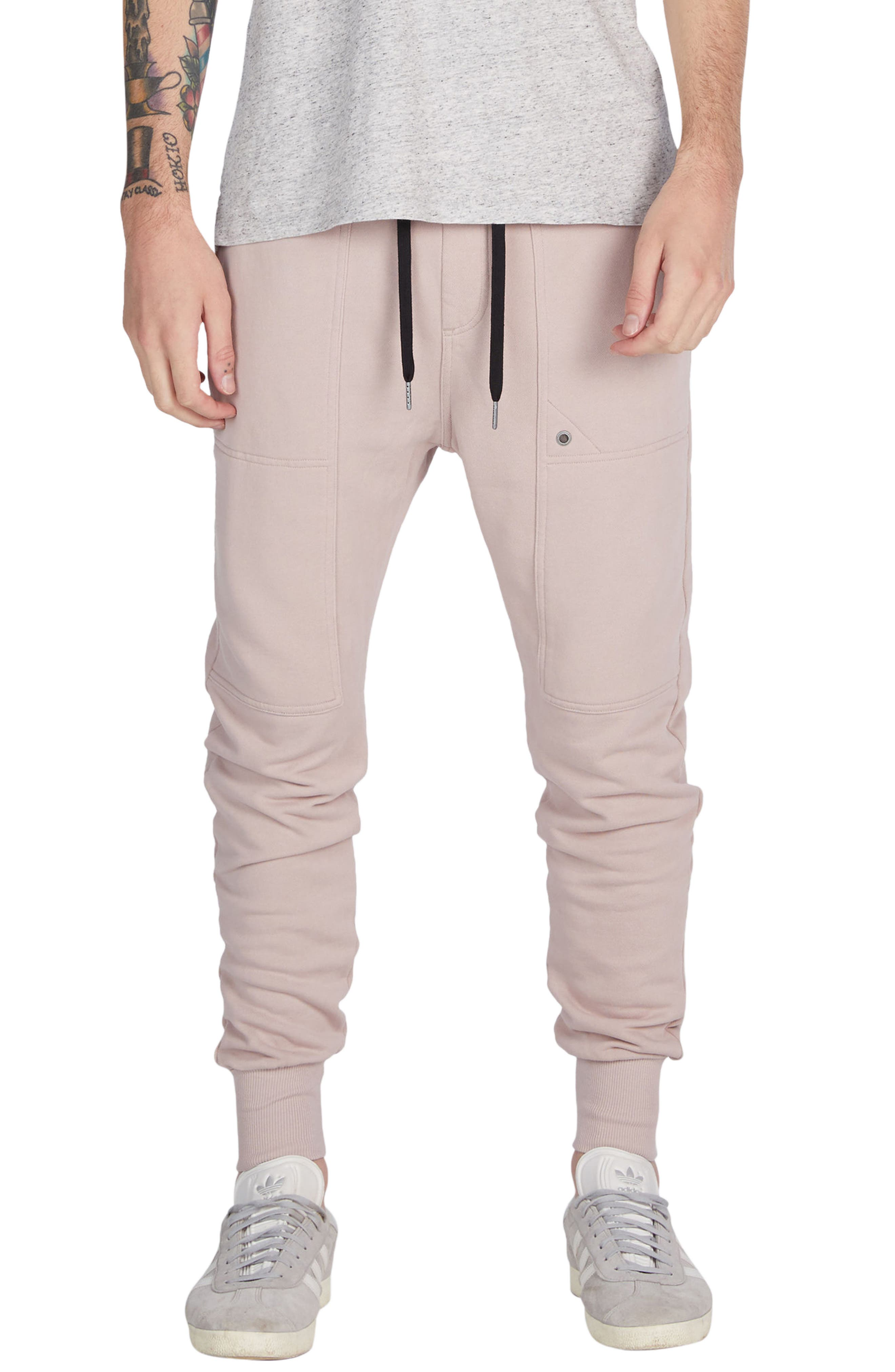 Alternate Image 1 Selected - ZANEROBE Blockshot Fleece Jogger Pants