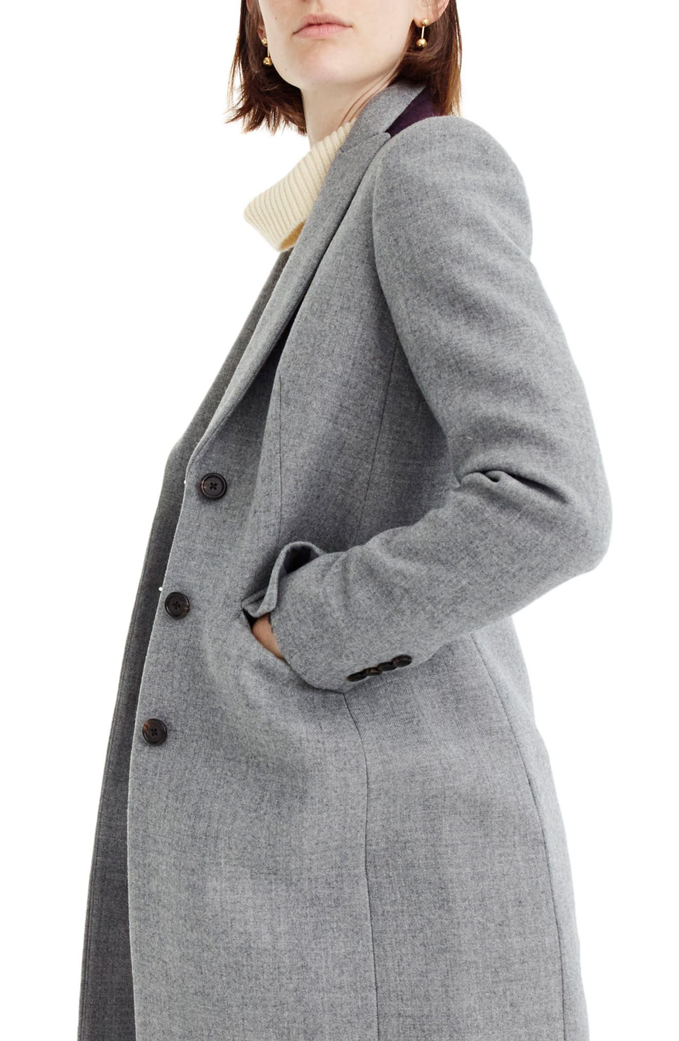 Alternate Image 3  - J.Crew Eniko Wool Topcoat
