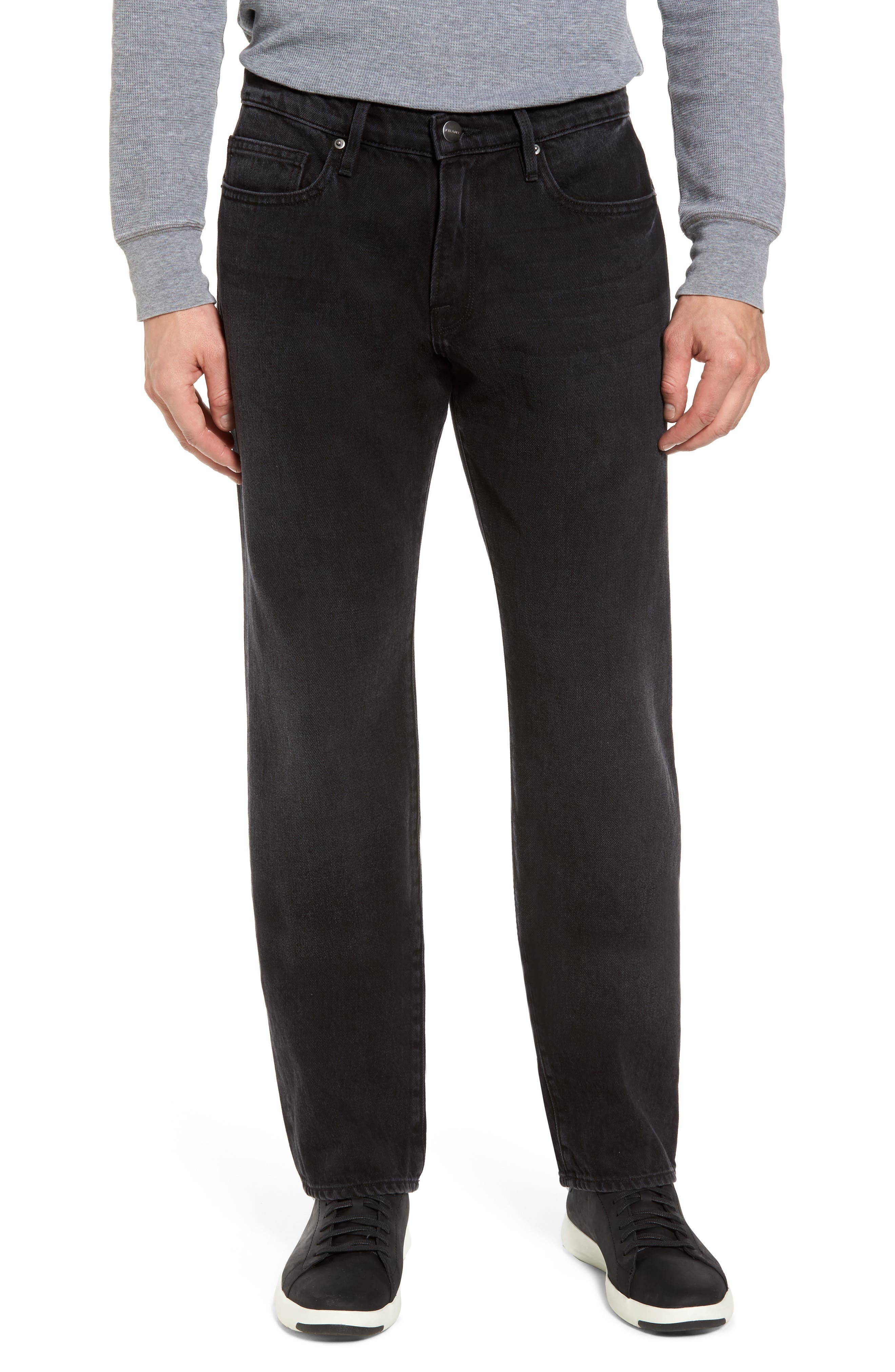 FRAME L'Homme Slim Straight Fit Jeans (Sable)
