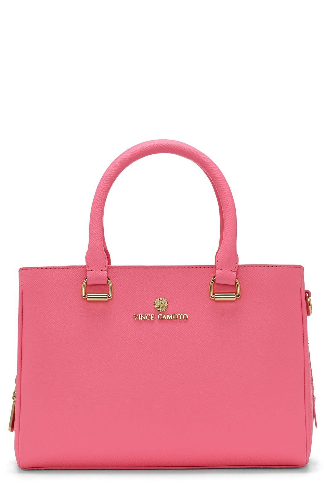 Alternate Image 1 Selected - Vince Camuto 'Small Thea' Leather Satchel