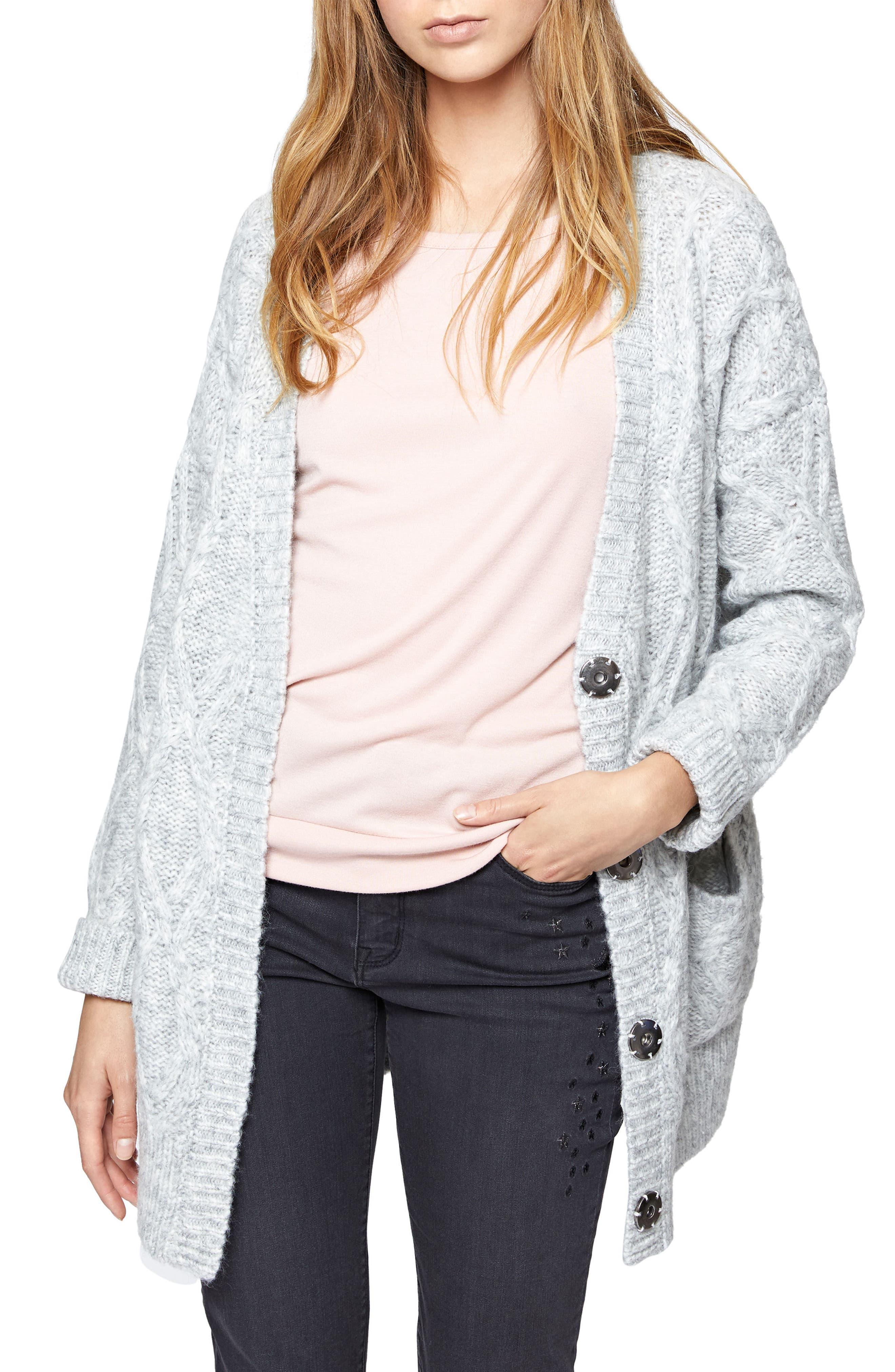 Alternate Image 1 Selected - Sanctuary Urban Knit Cardigan (Regular & Petite)