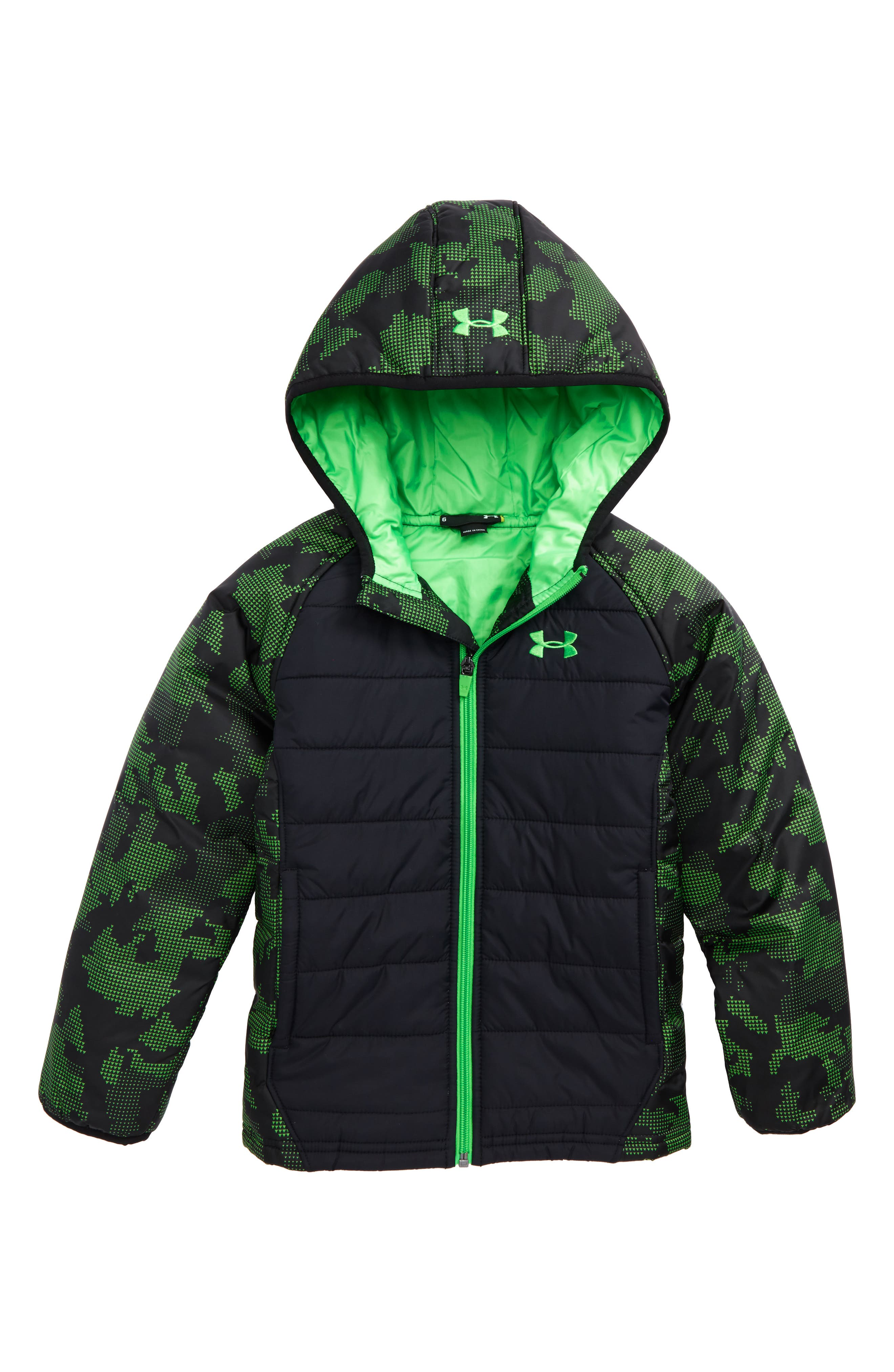 Under Armour Werewolf Water Resistant Hooded Puffer Jacket (Toddler Boys & Little Boys)