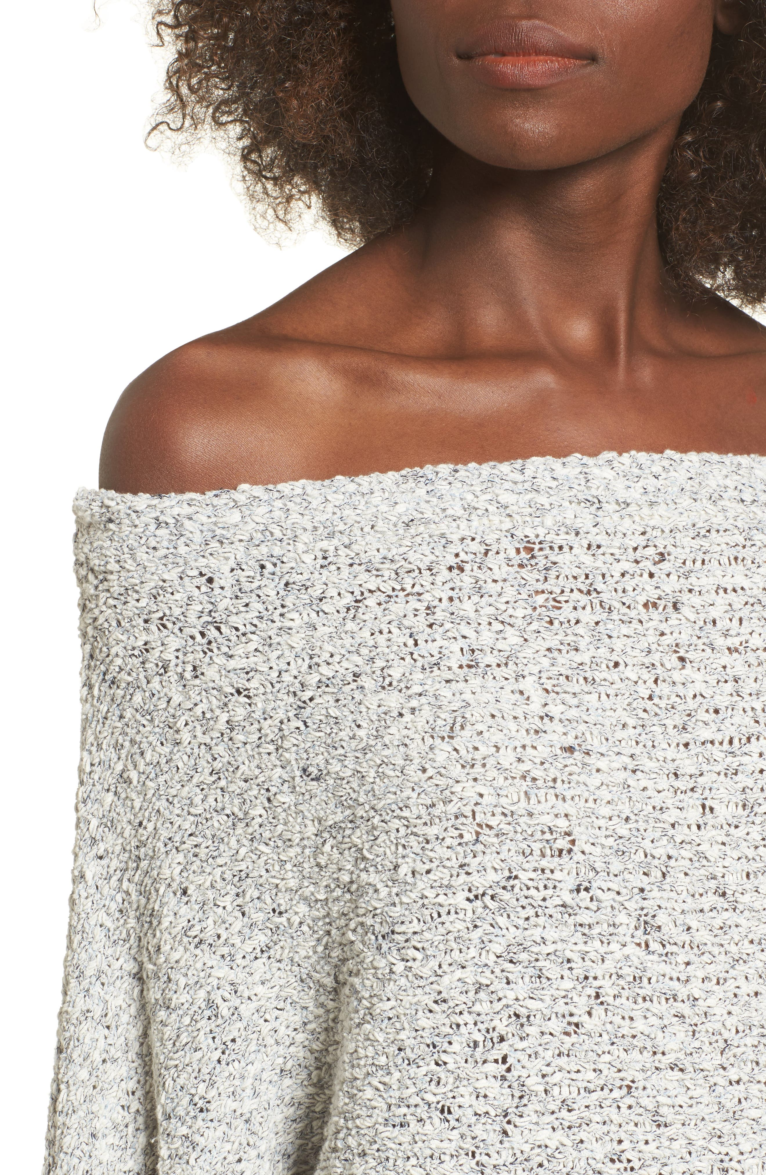 Alternate Image 4  - BP. Textured Off the Shoulder Sweater