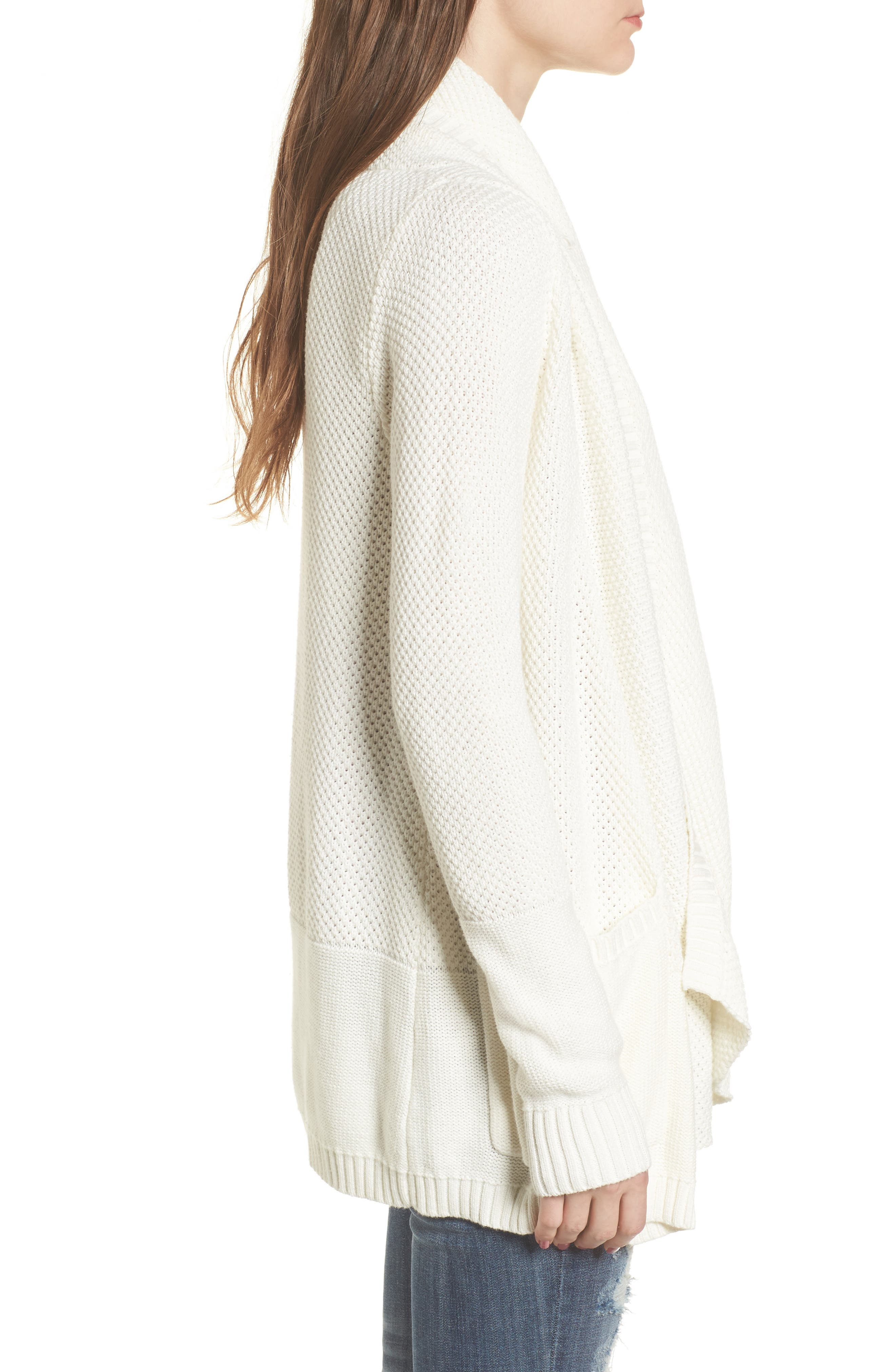Alternate Image 3  - Rip Curl Brunswick Cotton Cardigan
