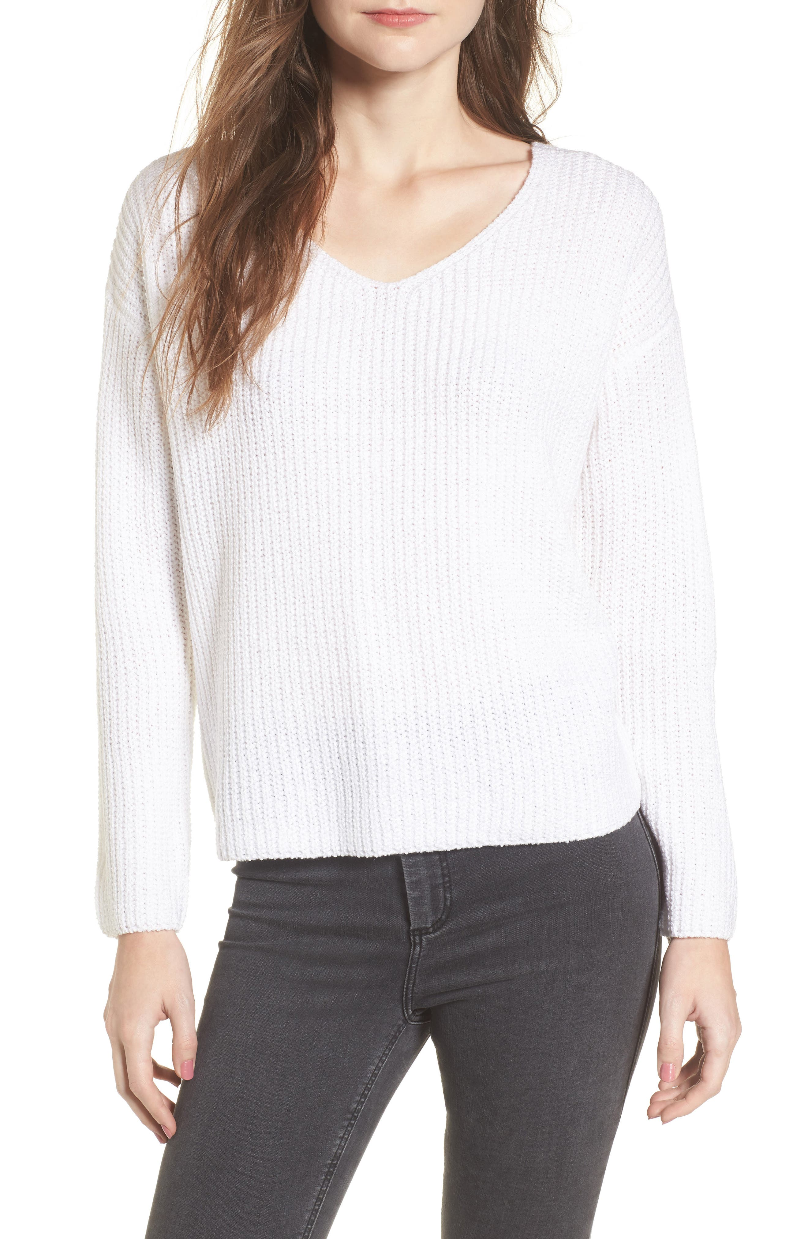 Alternate Image 2  - ASTR the Label Twist Back Sweater