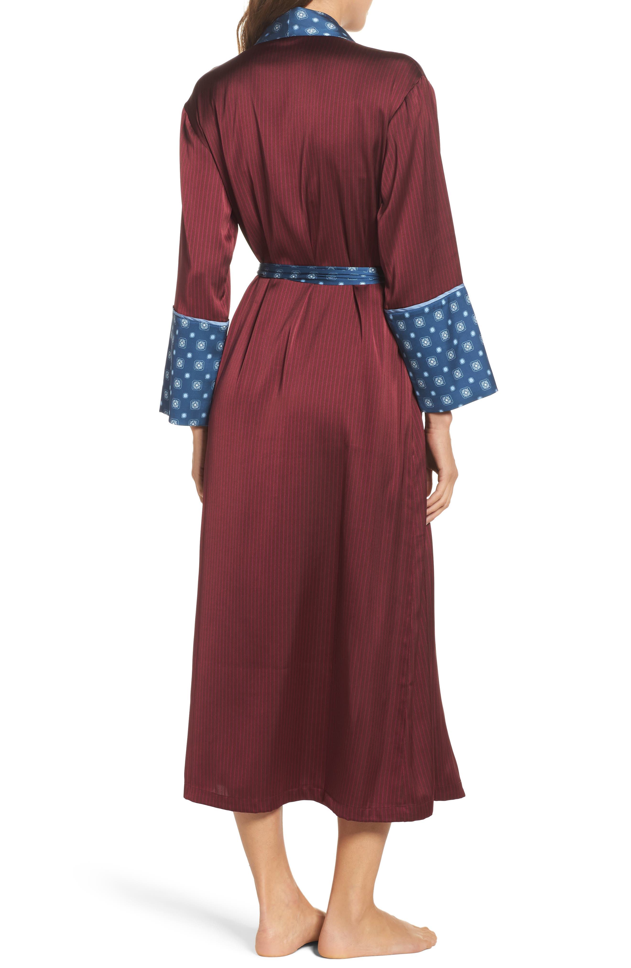 Alternate Image 2  - Bed to Brunch Mixed Print Robe