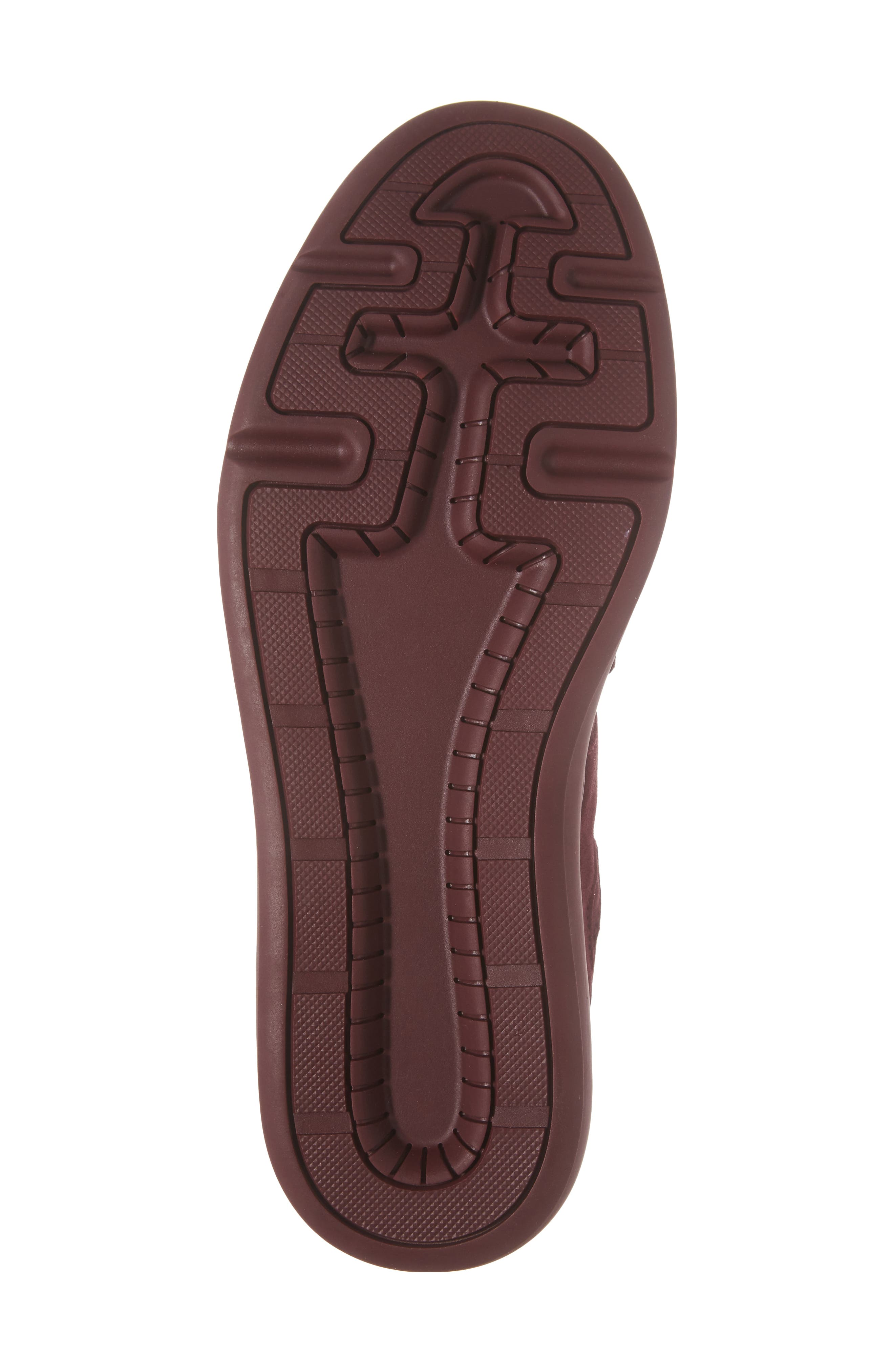 Meleti Sneaker,                             Alternate thumbnail 6, color,                             Dark Burgundy Leather