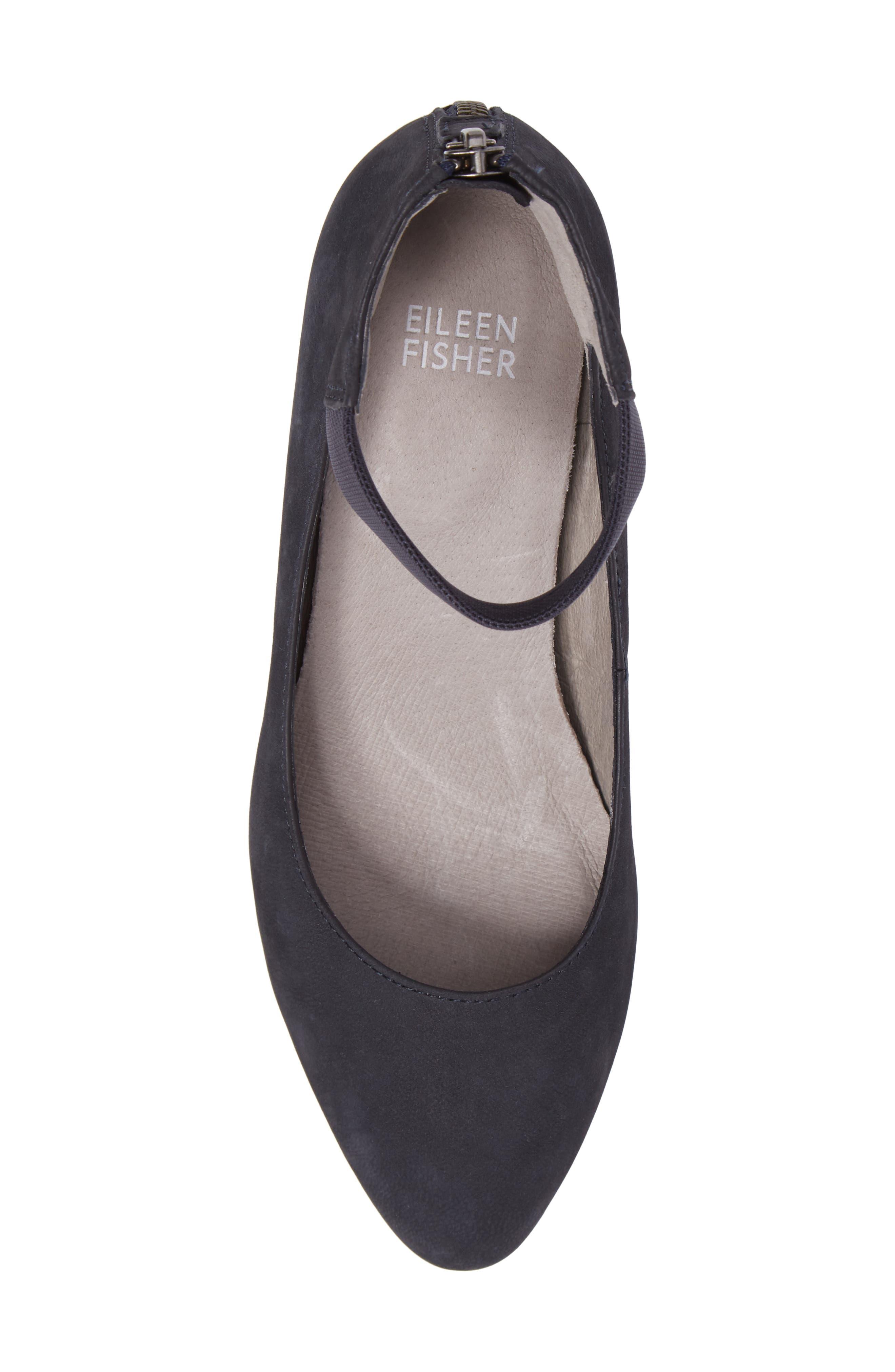 Alternate Image 6  - Eileen Fisher 'Liz' Ankle Strap Pump (Women)