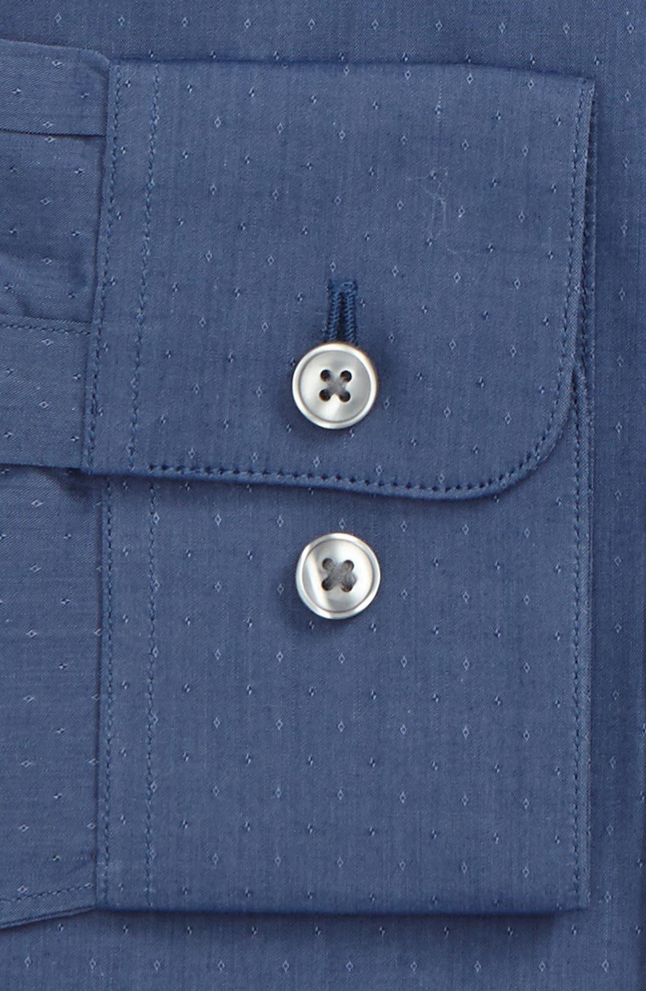 Alternate Image 2  - John Varvatos Star USA Slim Fit Stretch Dot Dress Shirt