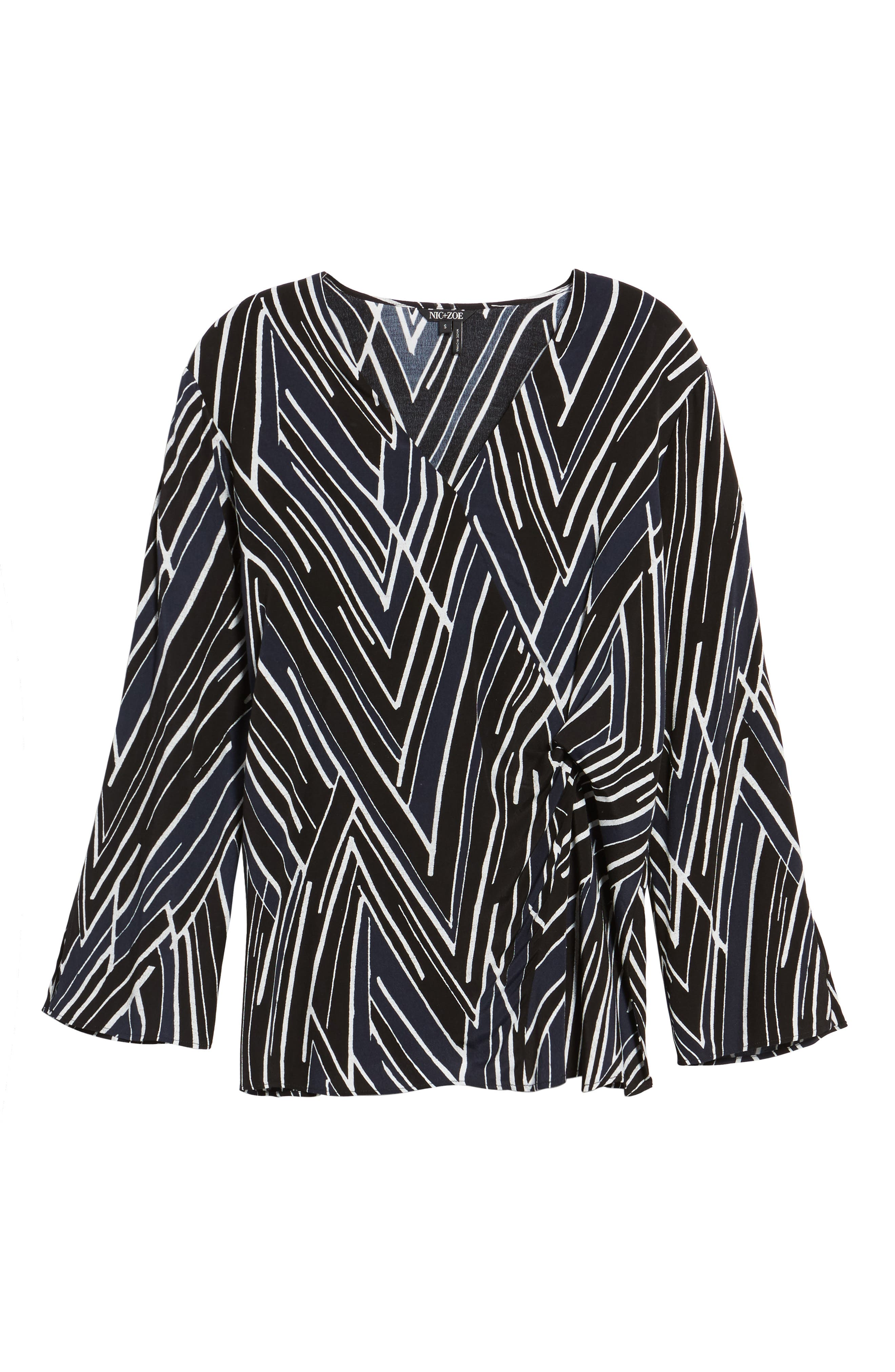 Bells and Whistles Top,                             Alternate thumbnail 6, color,                             Black Multi