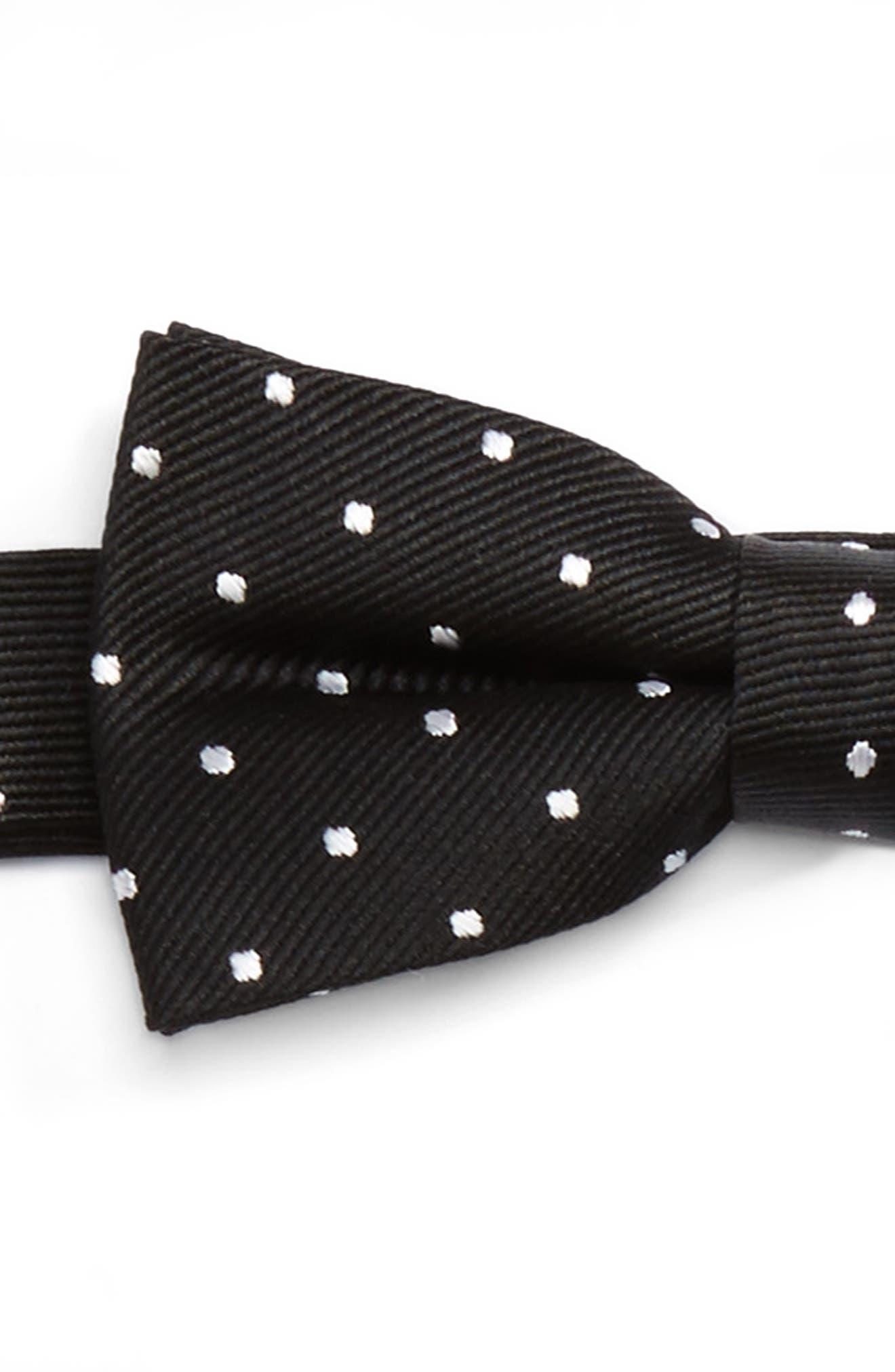 Alternate Image 2  - Nordstrom Polka Dot Bow Tie & Suspenders Set (Big Boys)