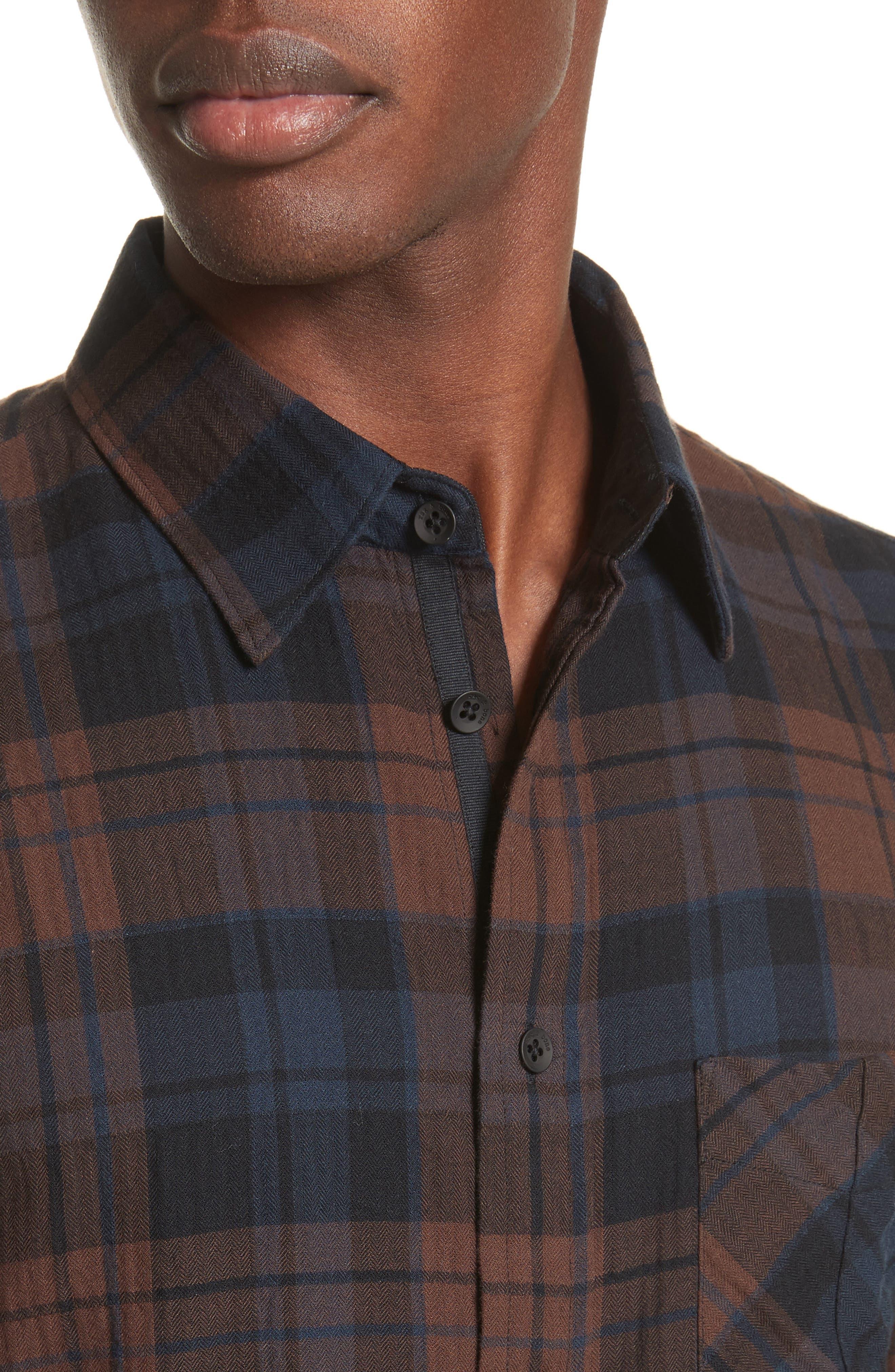 Alternate Image 4  - rag & bone Fit 3 Base Flannel Shirt