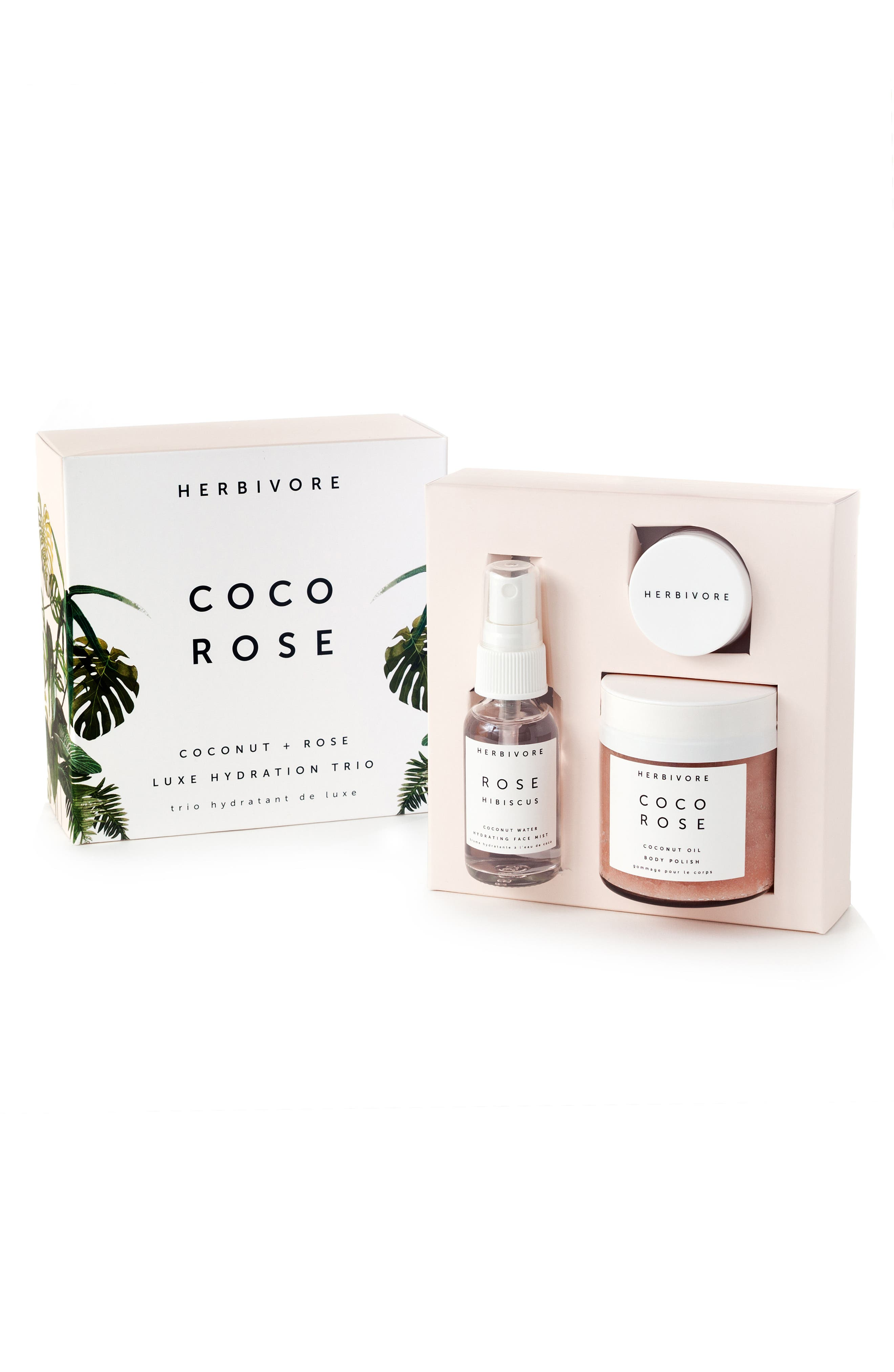 Alternate Image 3  - Herbivore Botanicals Coco Rose Luxe Hydration Trio (Limited Edition) ($51 Value)