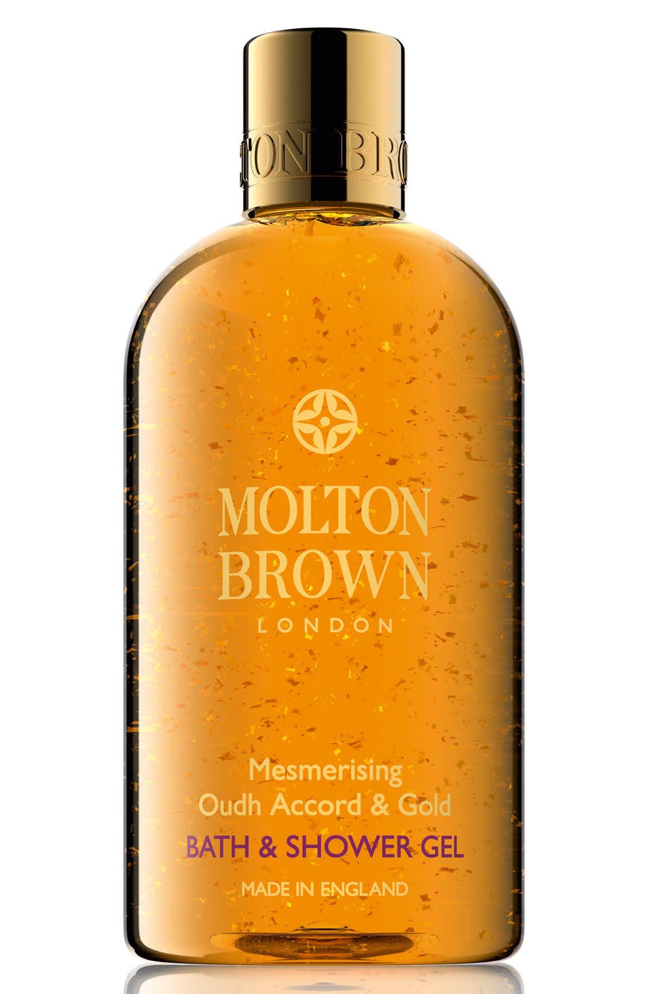 Main Image - MOLTON BROWN London 'Oudh Accord & Gold' Body Wash