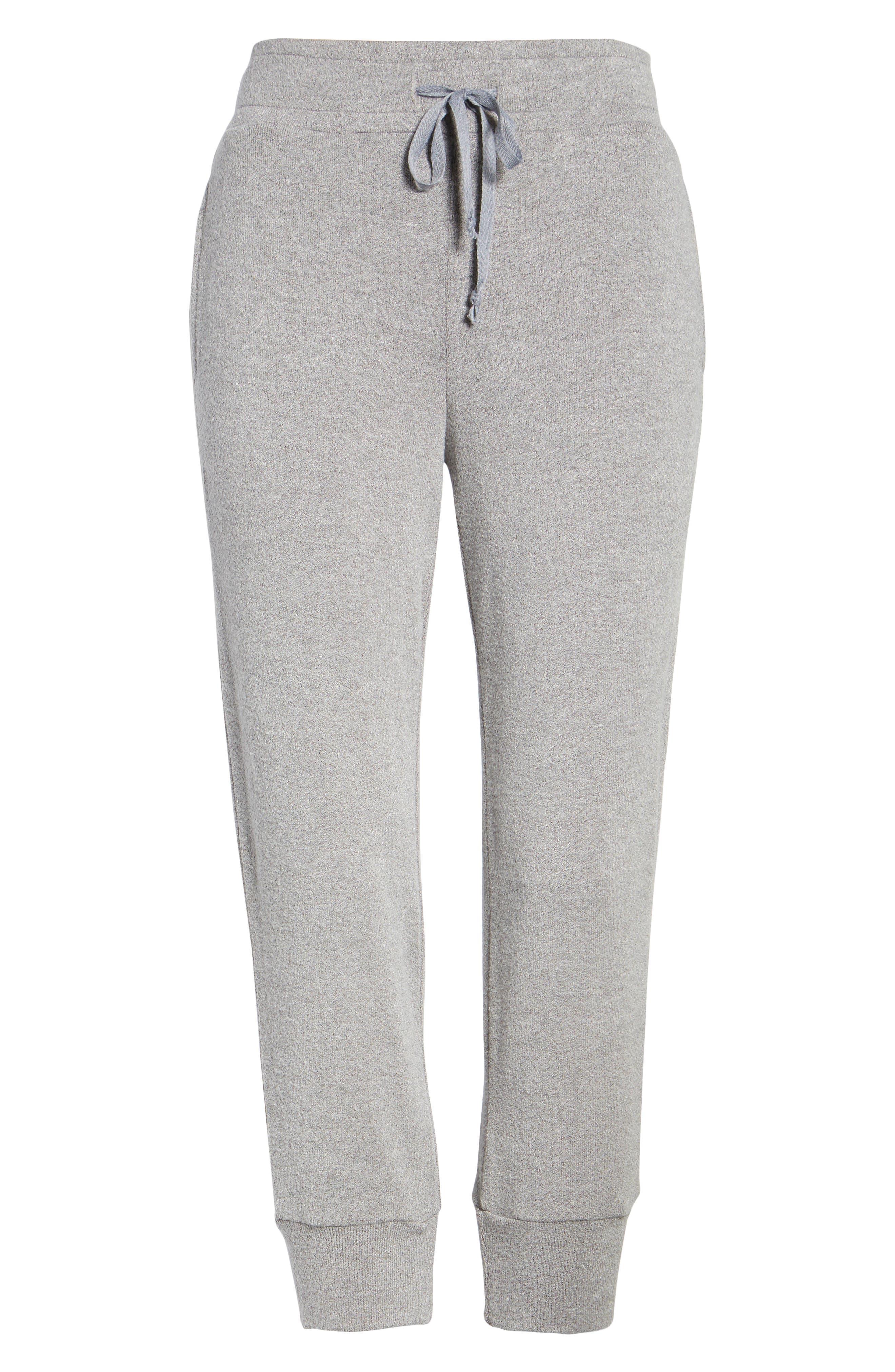 Alternate Image 6  - Lira Clothing Flint Fleece Crop Jogger Pants
