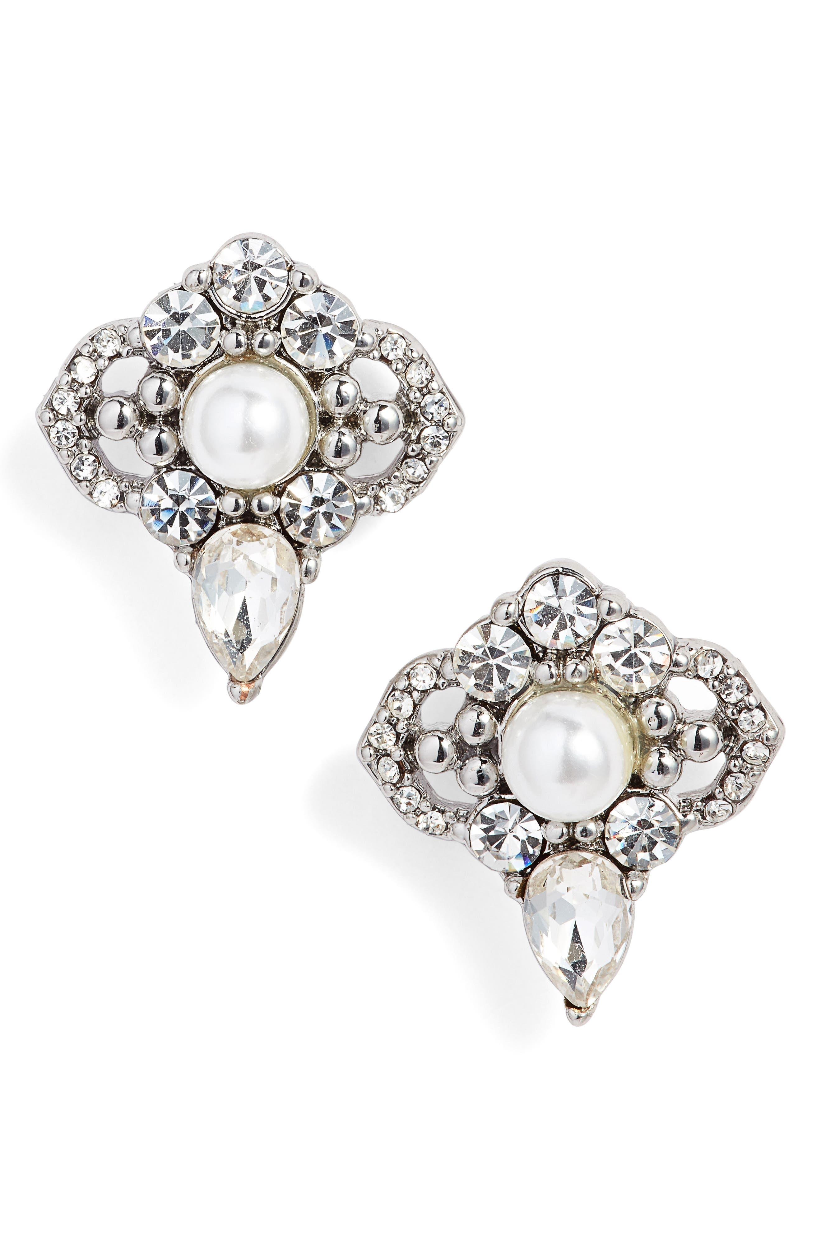 Main Image - Jenny Packham Cluster Stud Earrings