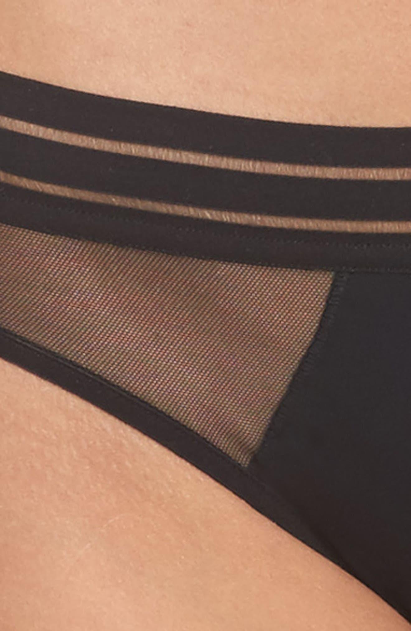 Nufit Bikini,                             Alternate thumbnail 4, color,                             Black
